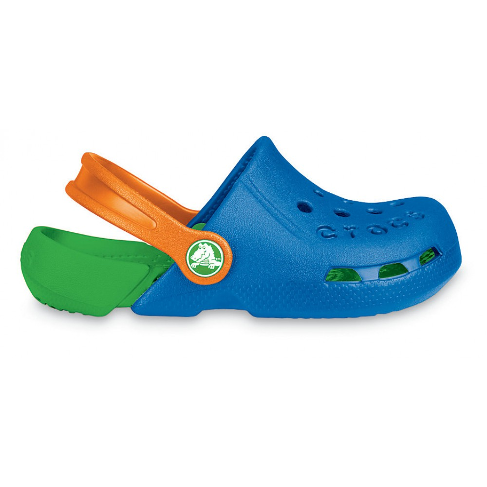 Crocs Electro Sea Blue / Lime