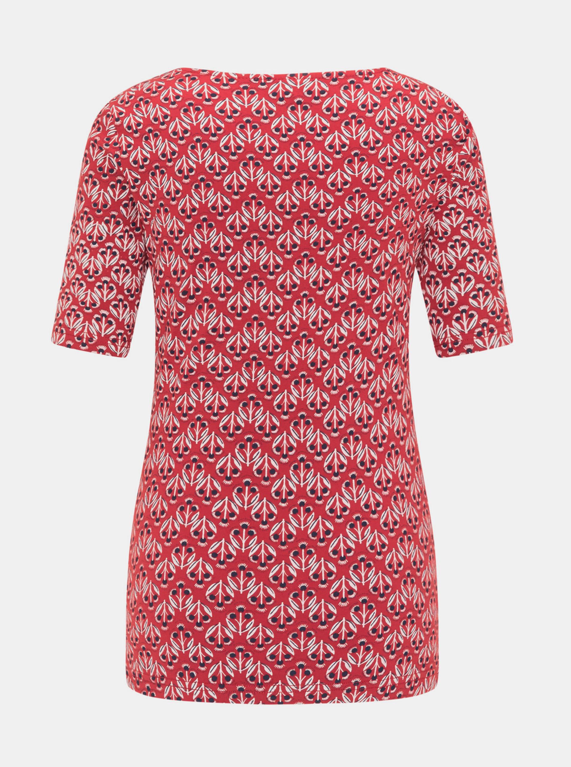 Tranquillo rosso maglietta con motivo