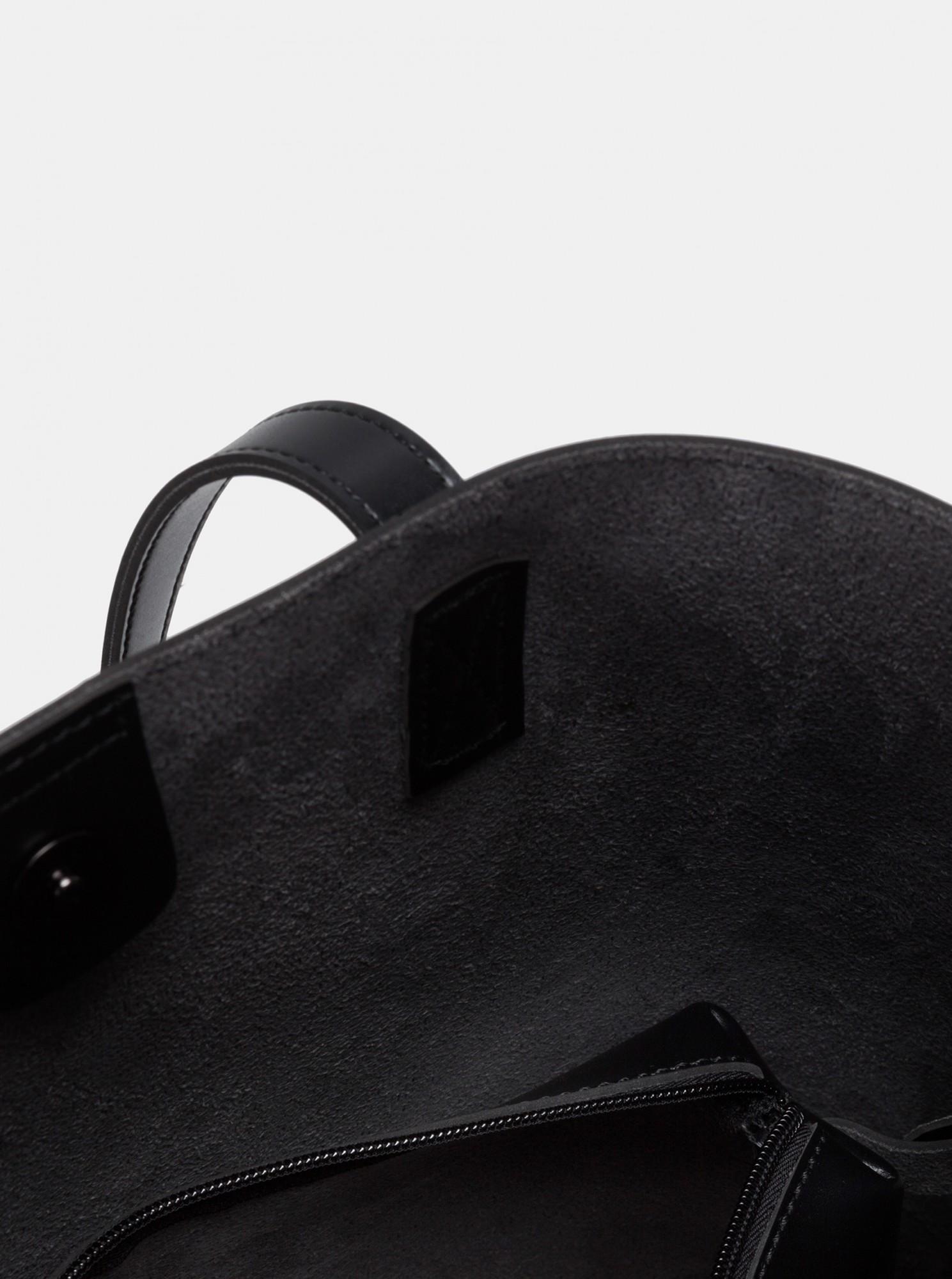 Claudia Canova nero grande borsetta