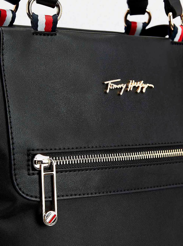 Tommy Hilfiger nero grande borsetta