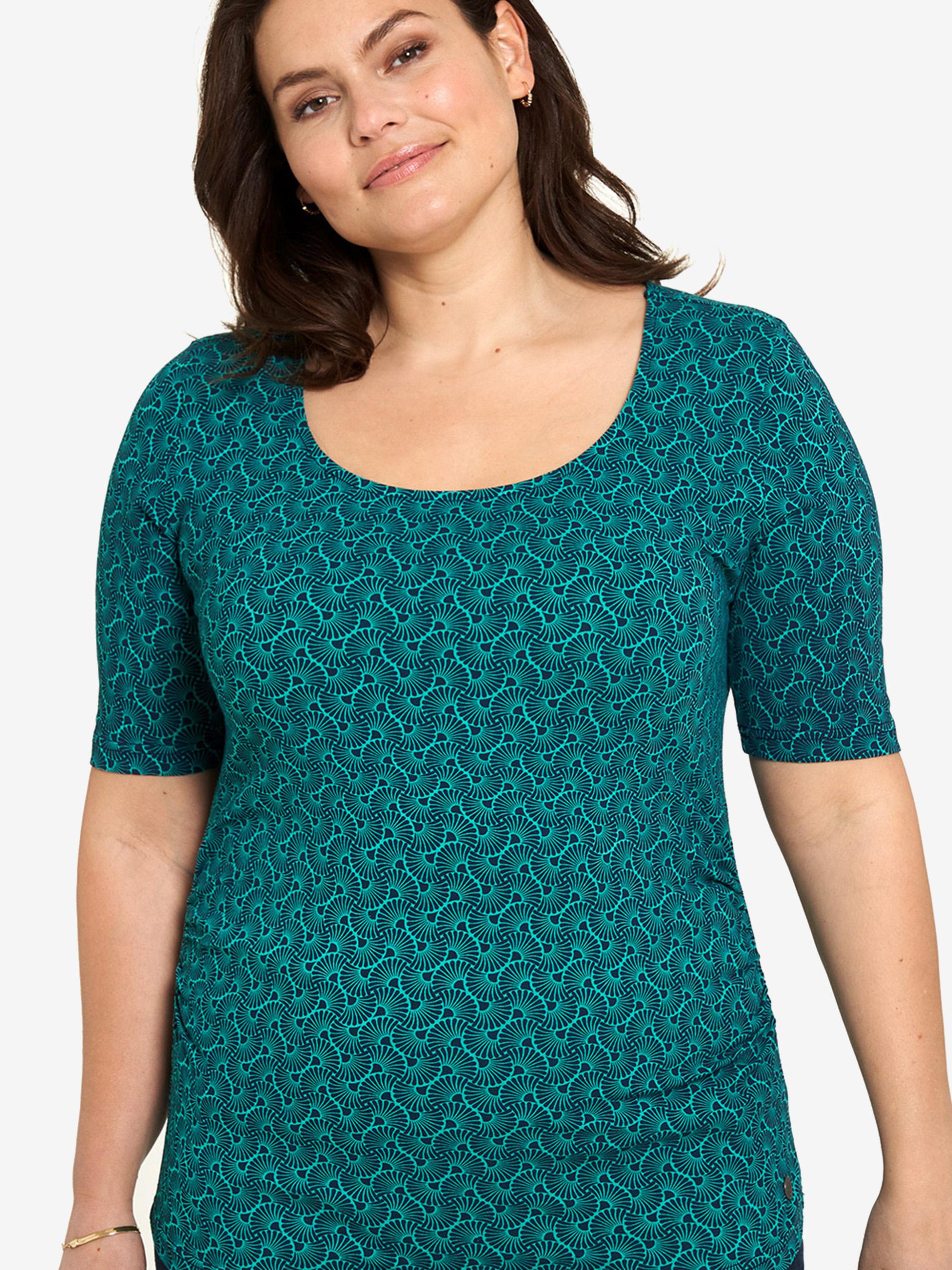 Tranquillo verde maglietta con motivo