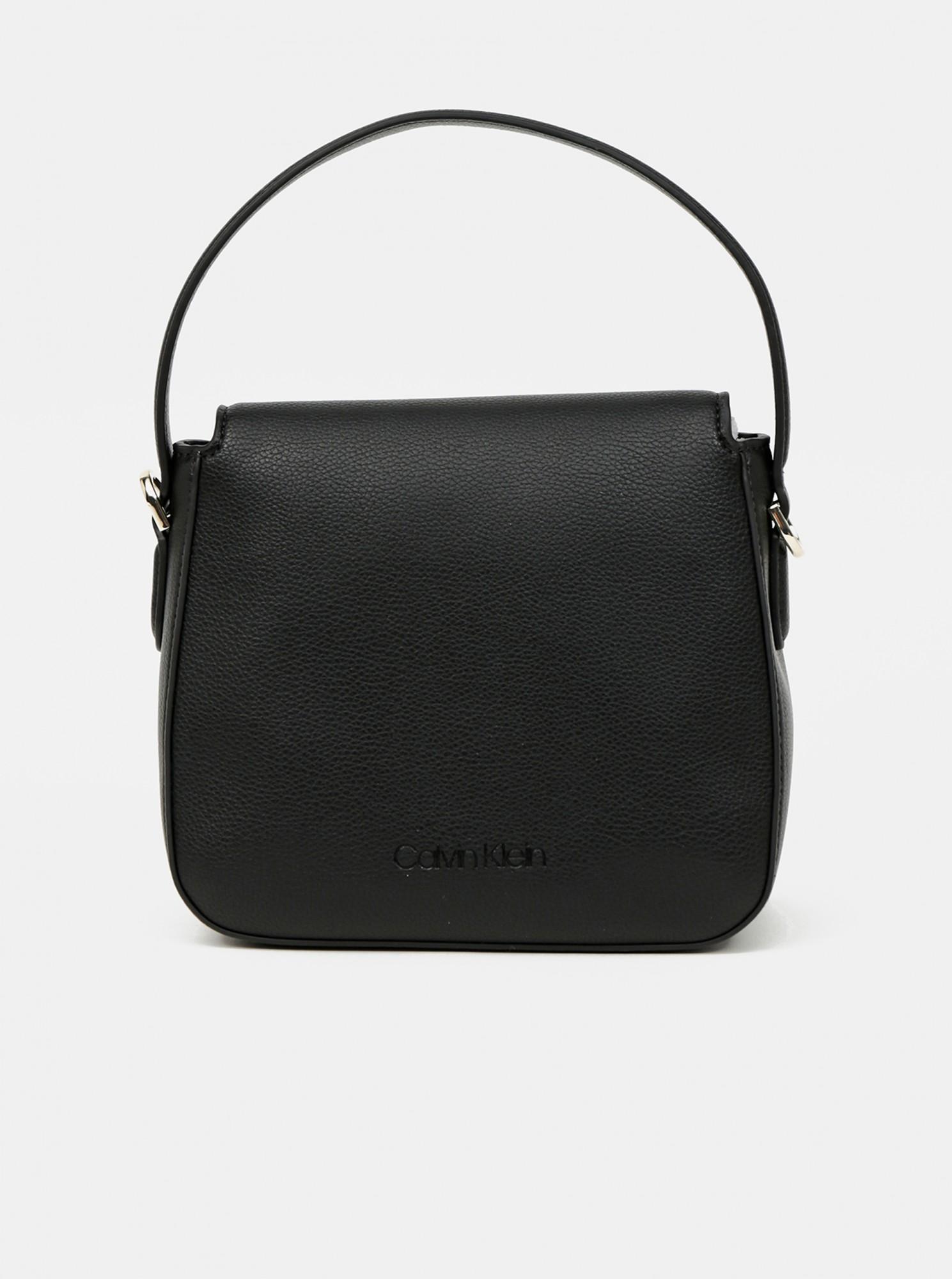 Calvin Klein nero borsetta Hobo W/Flap