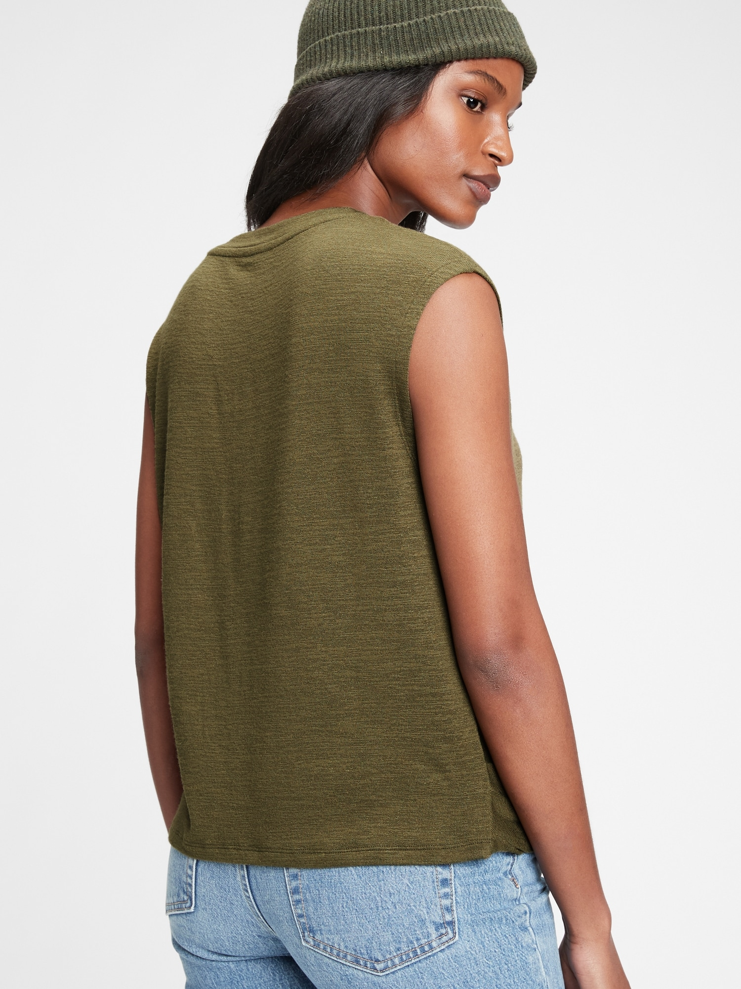 GAP Maglietta donna verde