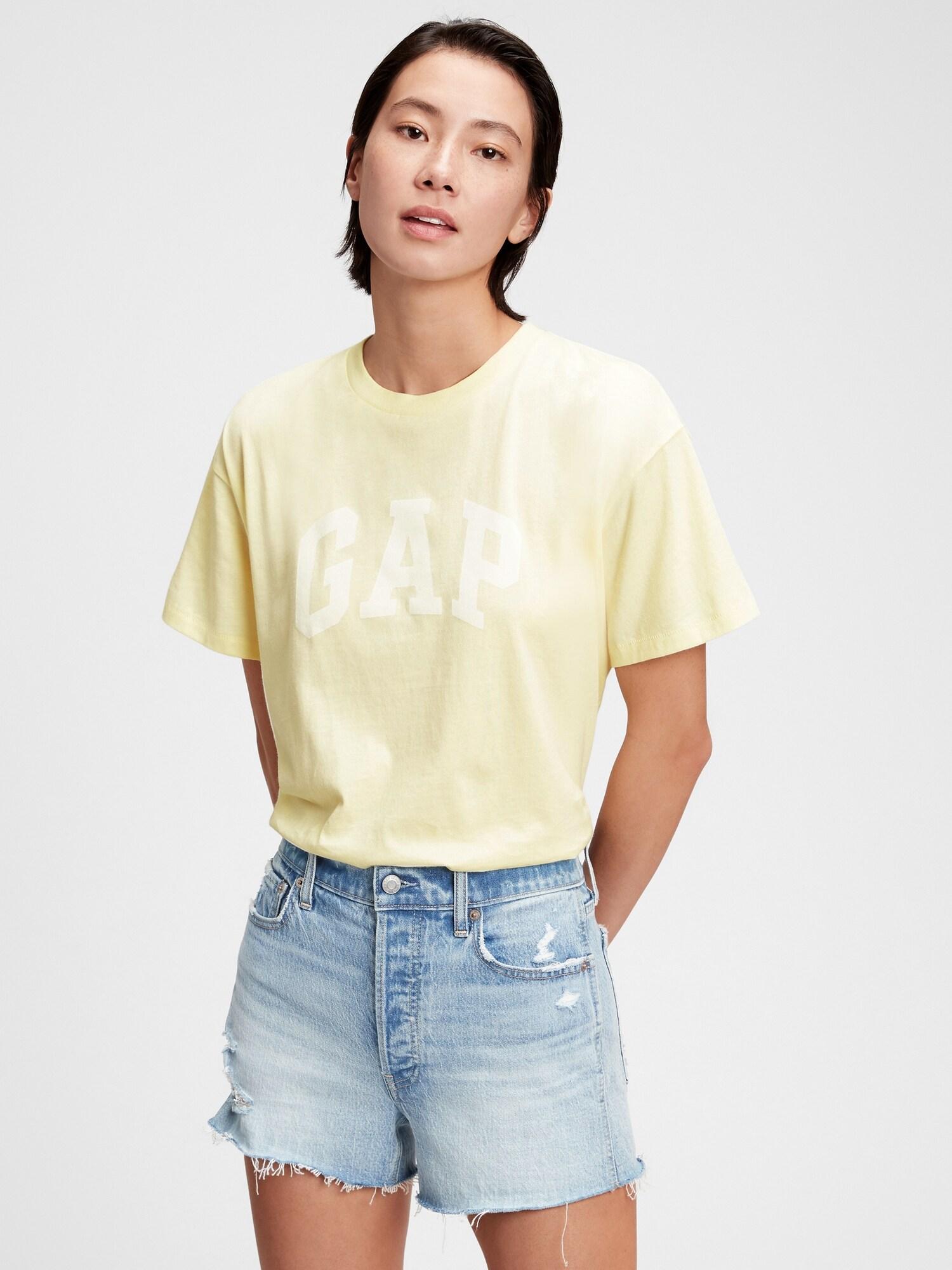 GAP Maglietta donna giallo