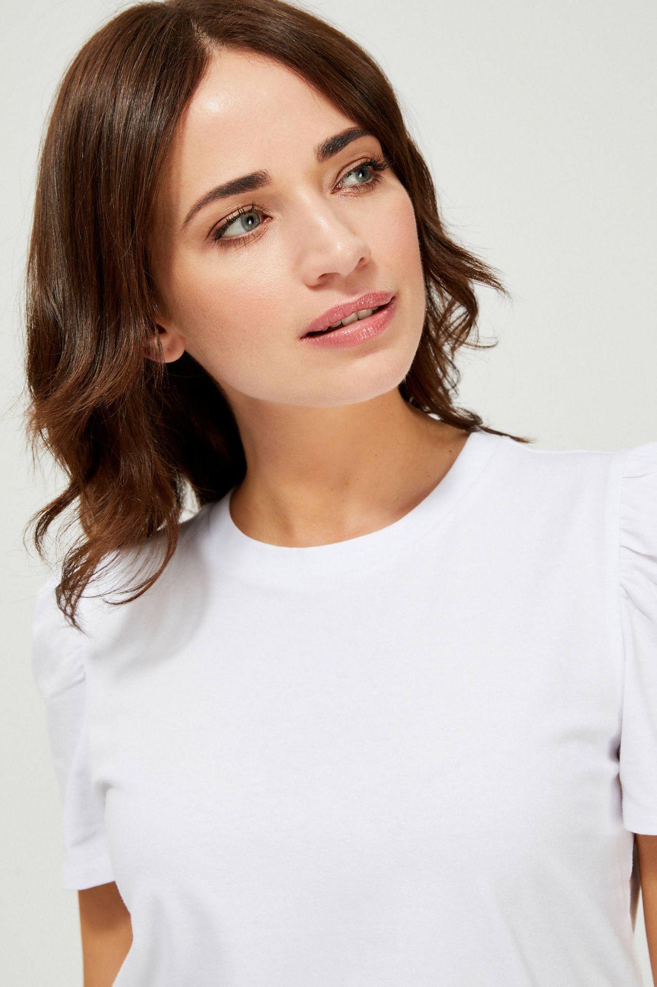 Moodo bianco maglietta