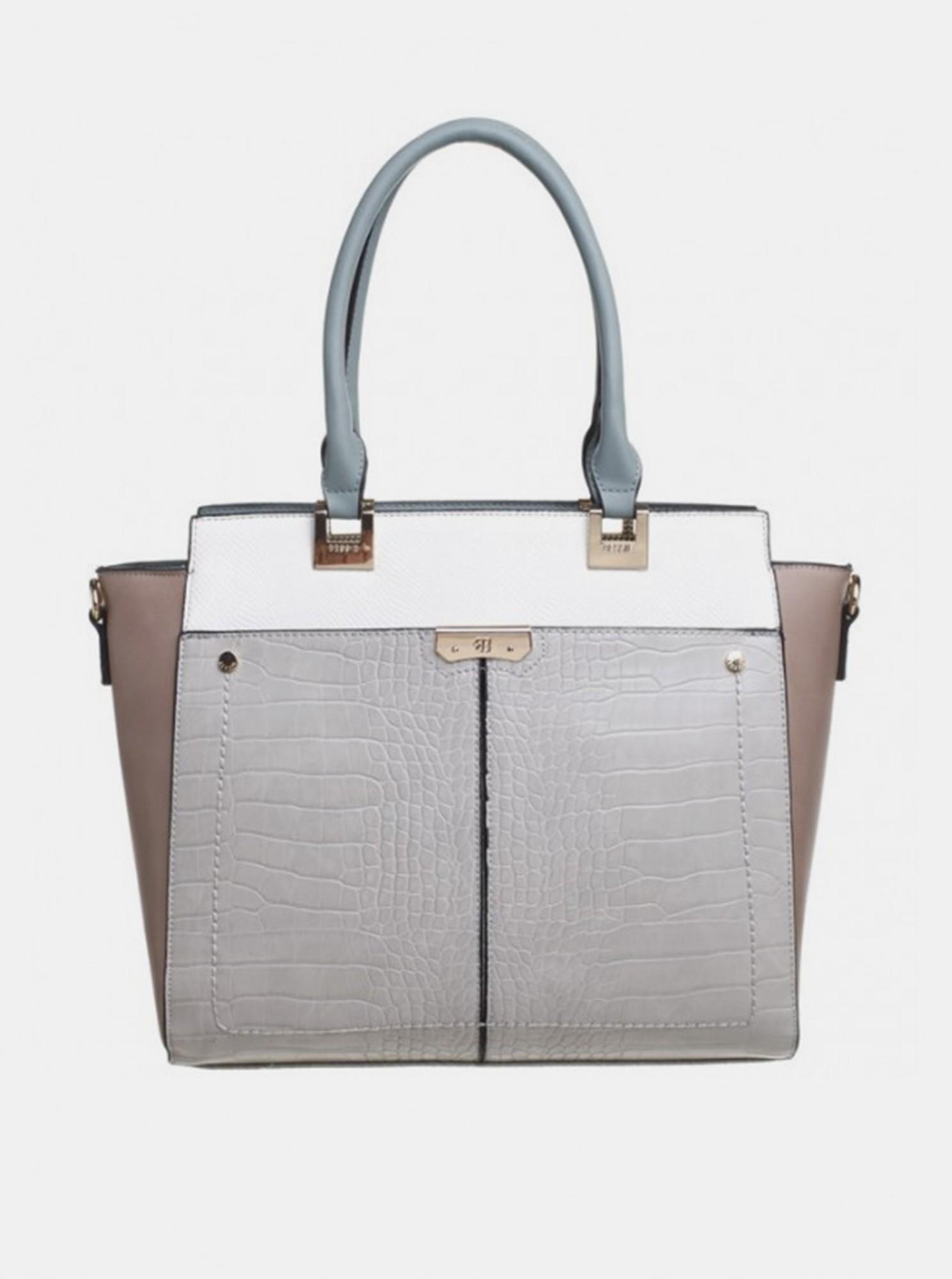 Bessie London grigio borsetta