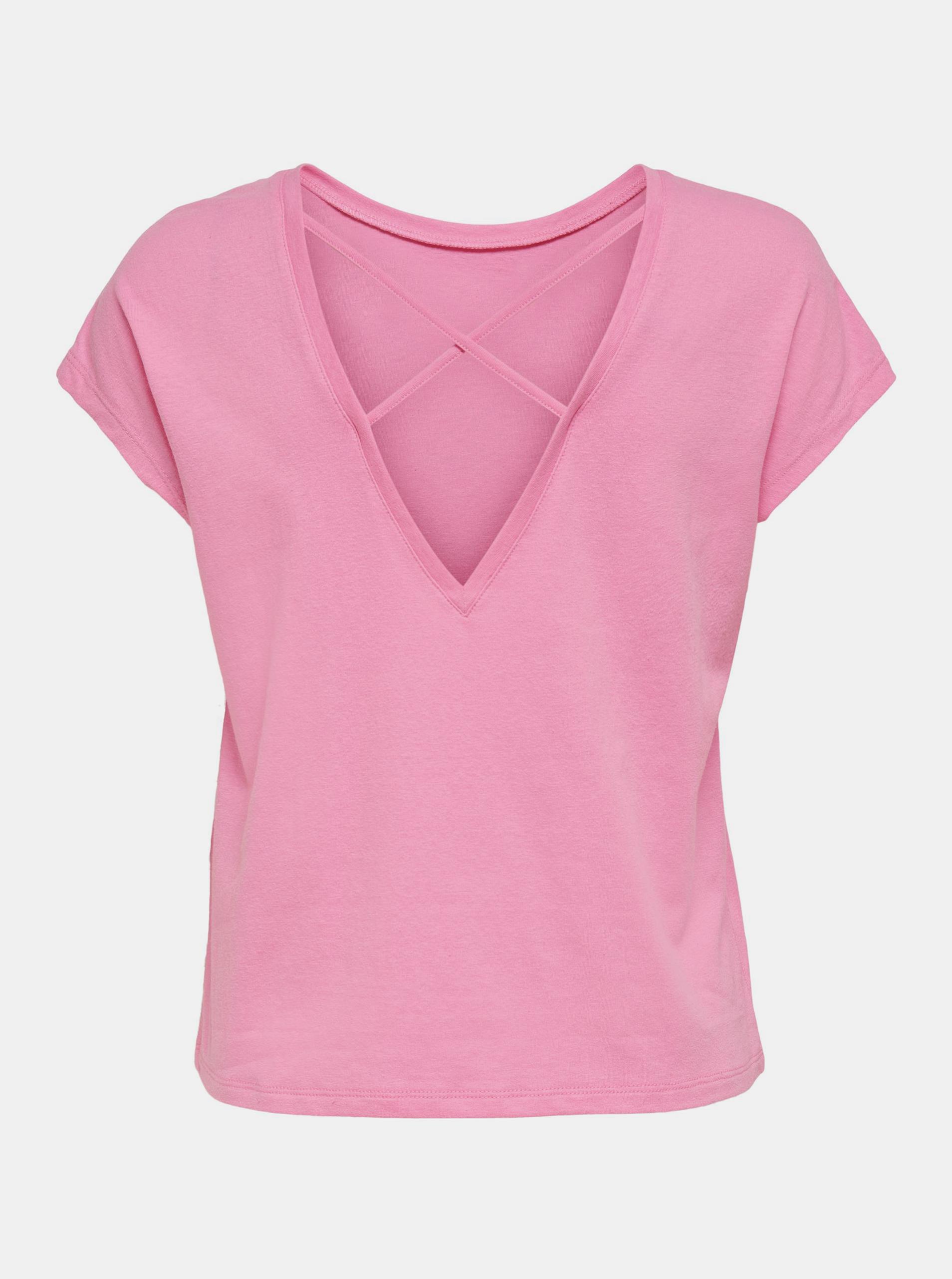 Only rosa da donna maglietta Ama