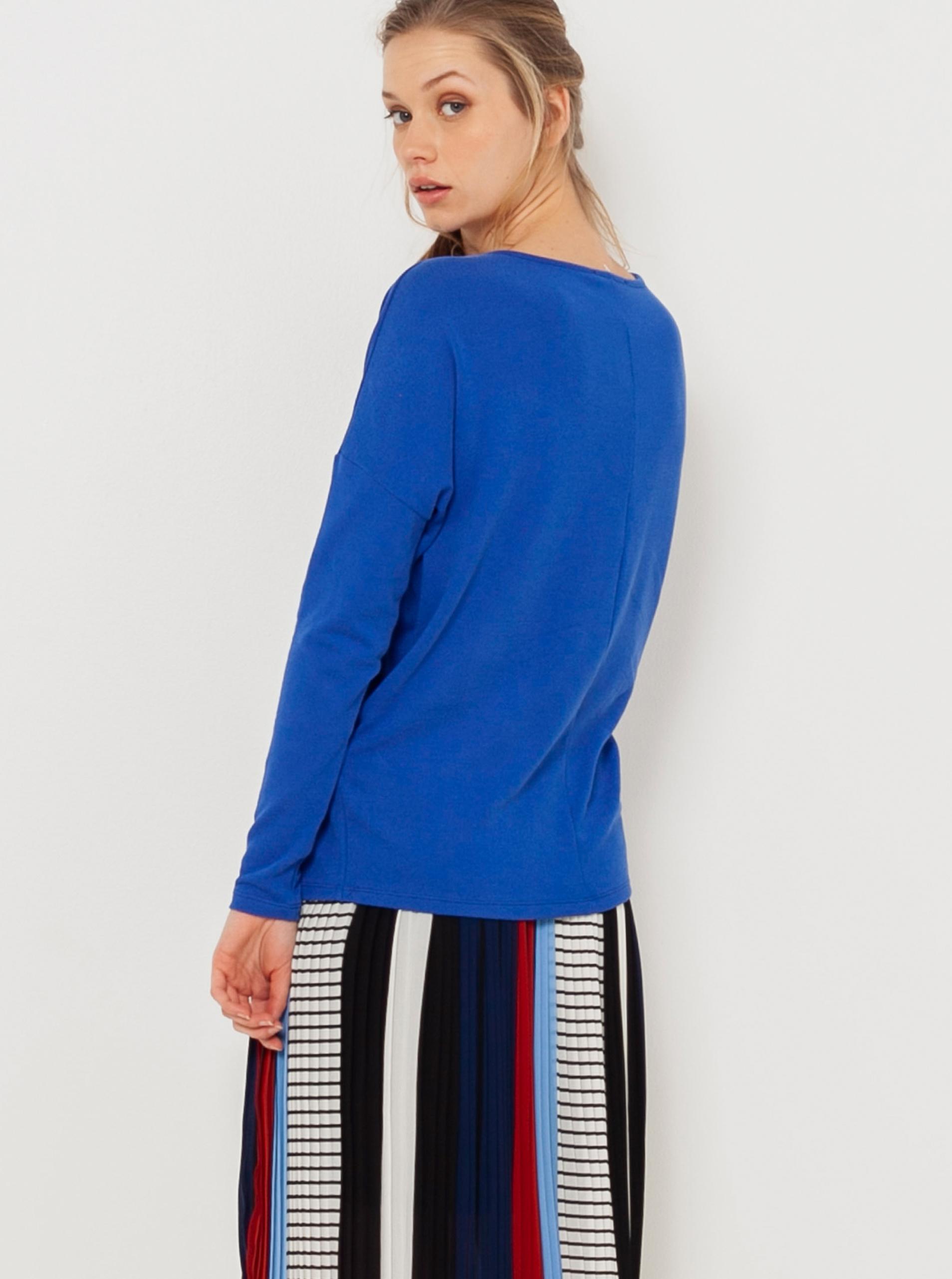 CAMAIEU blu da donna maglietta