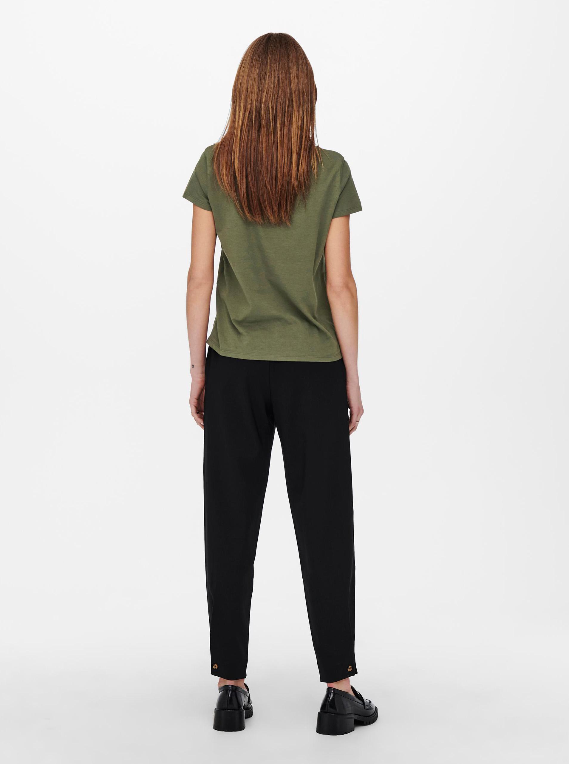 Jacqueline de Yong kaki maglietta Dina