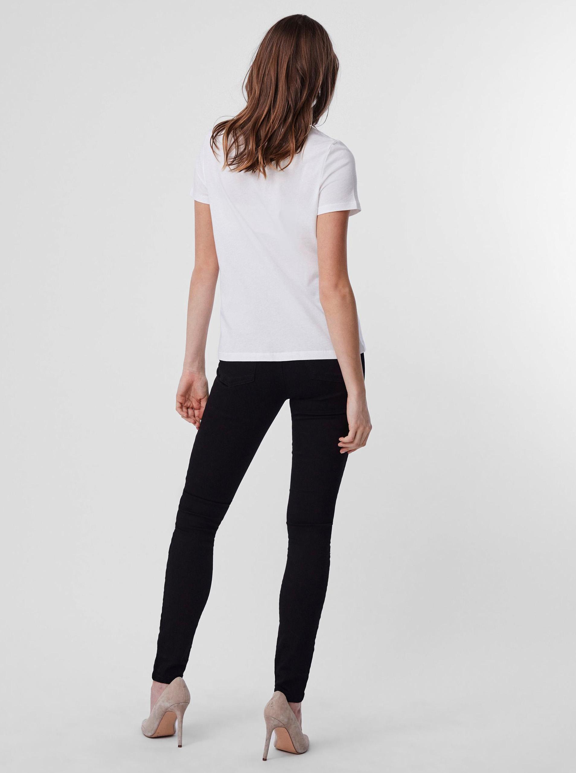 Vero Moda bianco maglietta Donna