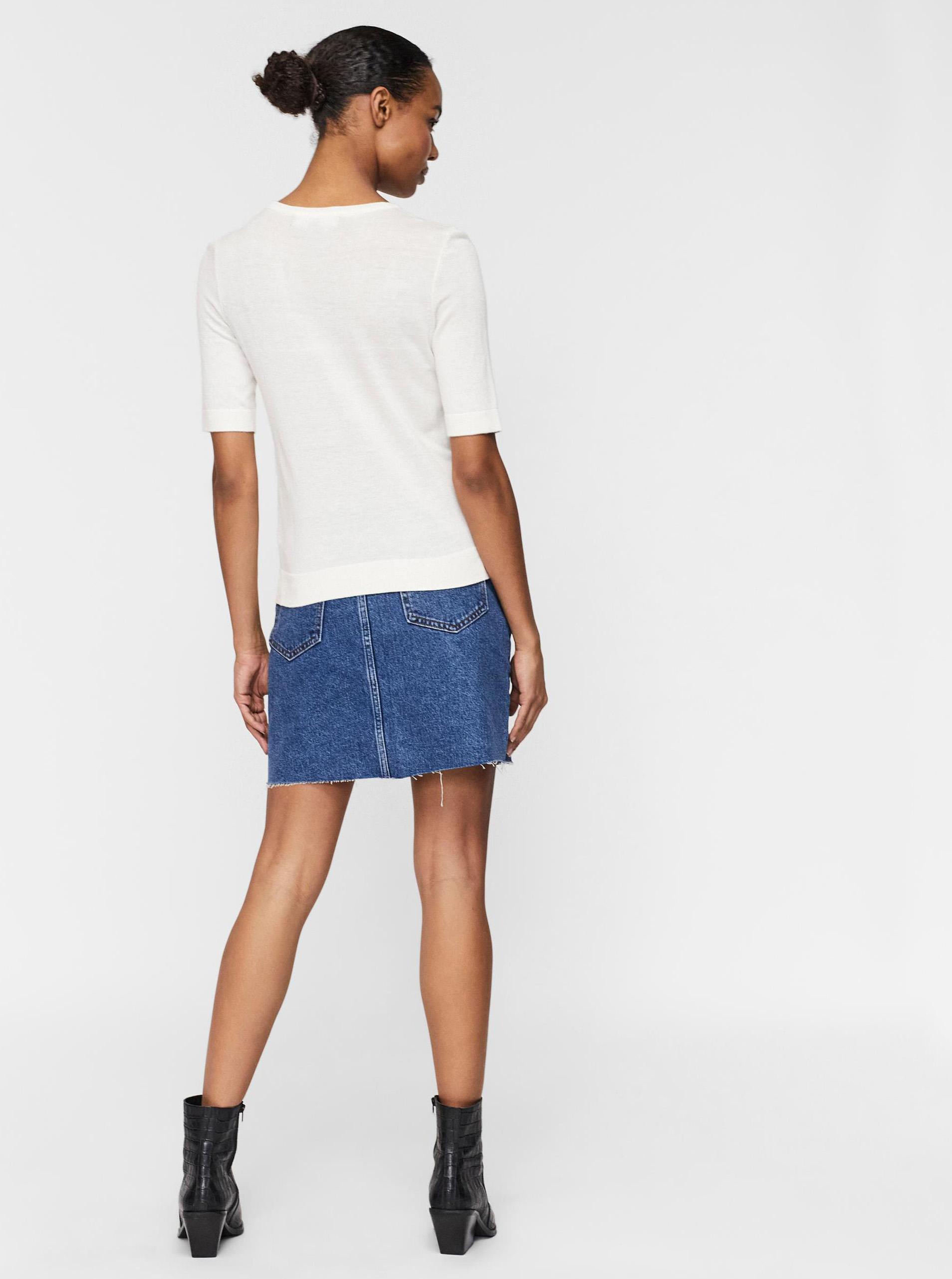 Vero Moda crema maglietta Silke