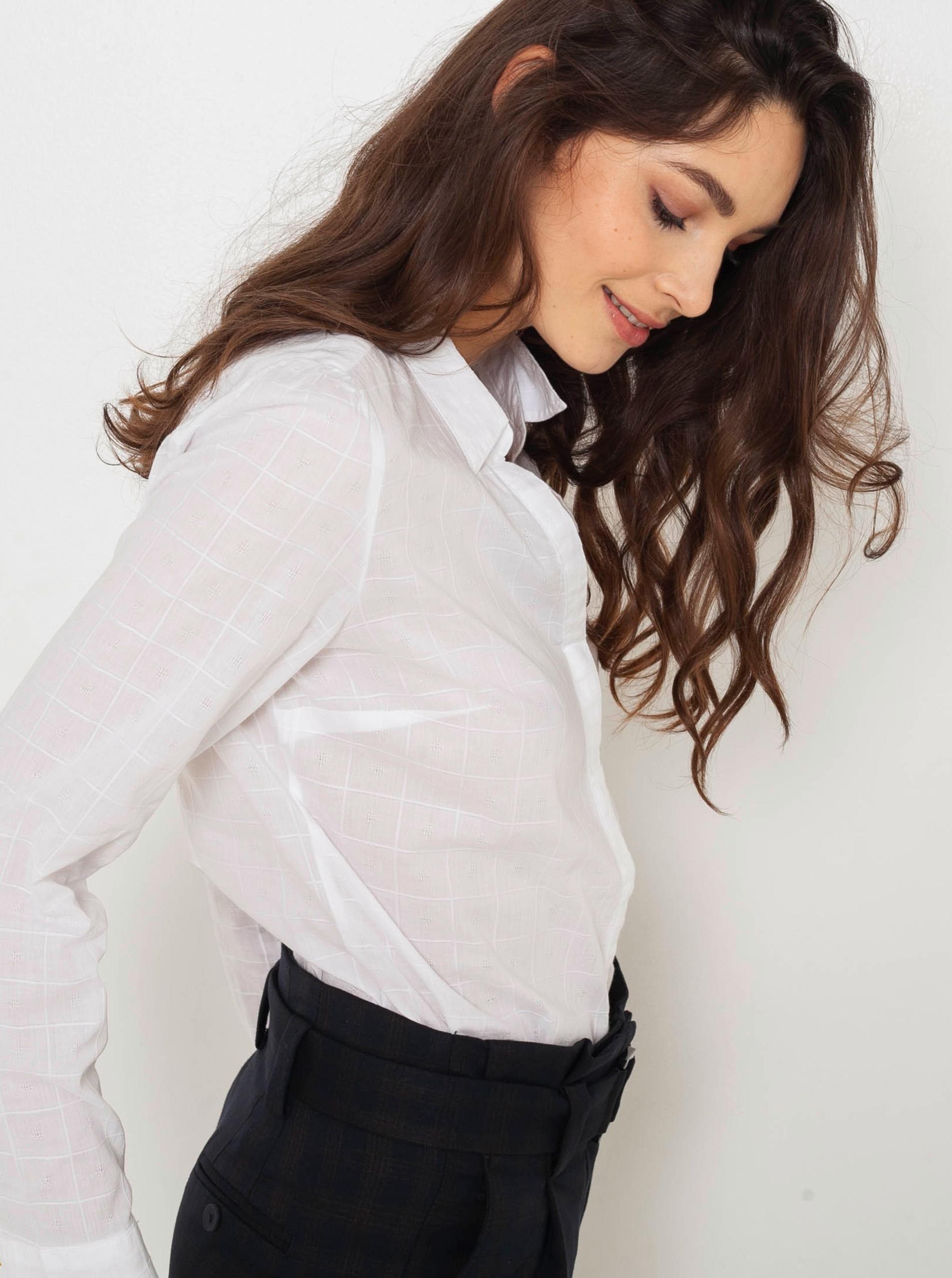 CAMAIEU bianco camicetta