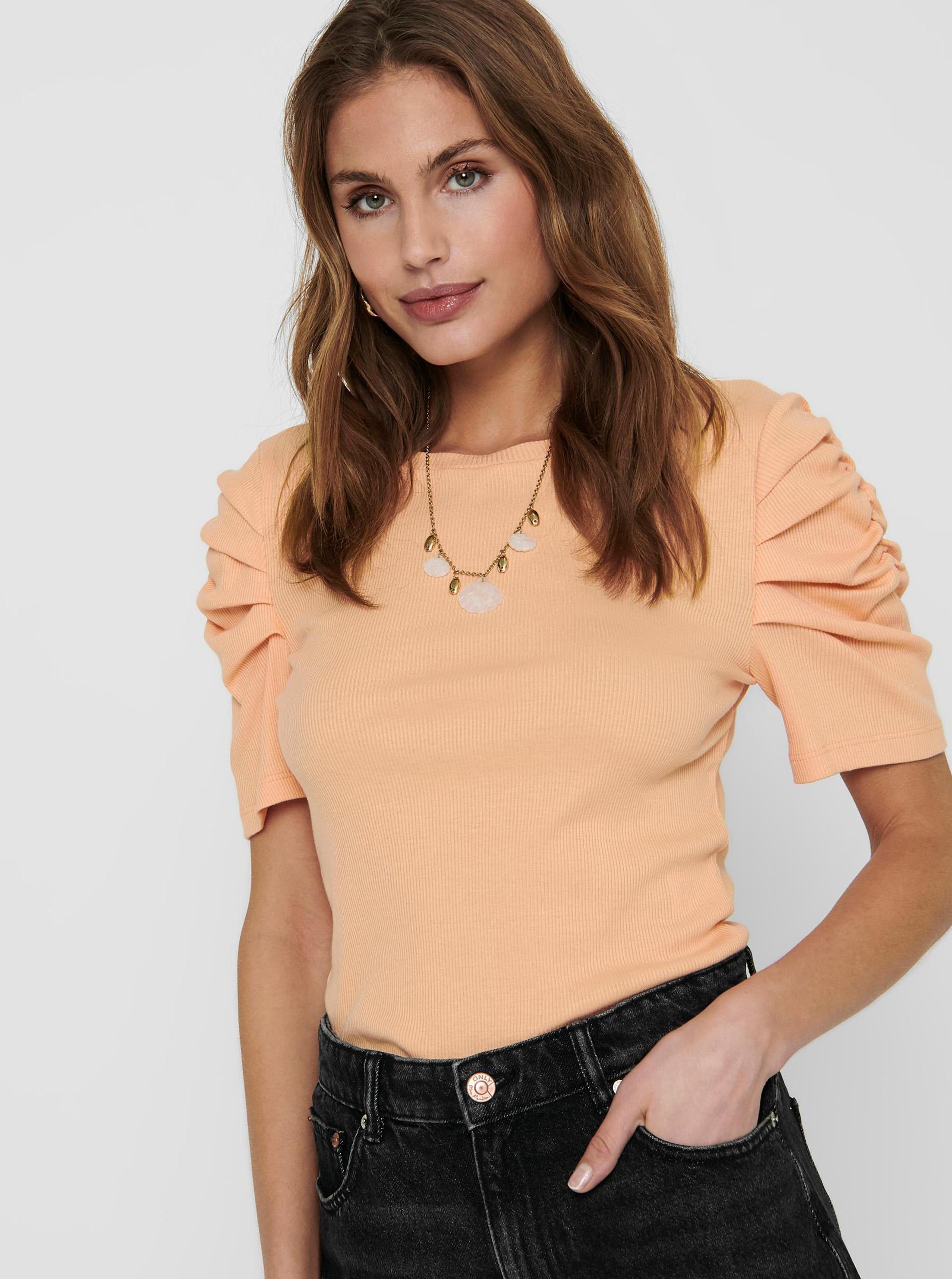 Only arancione maglietta Onelly
