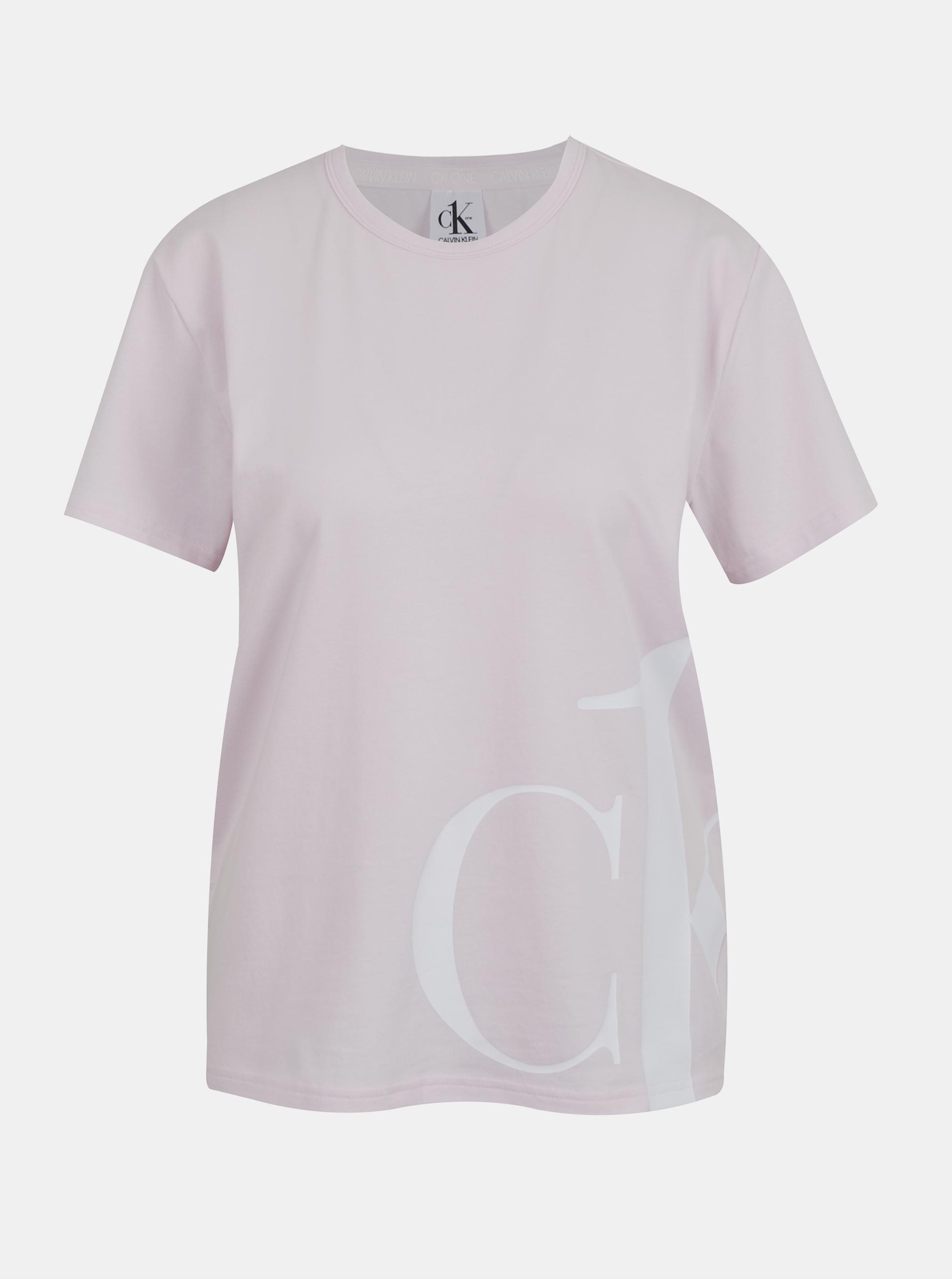 Calvin Klein rosa maglietta S/S Crew Neck