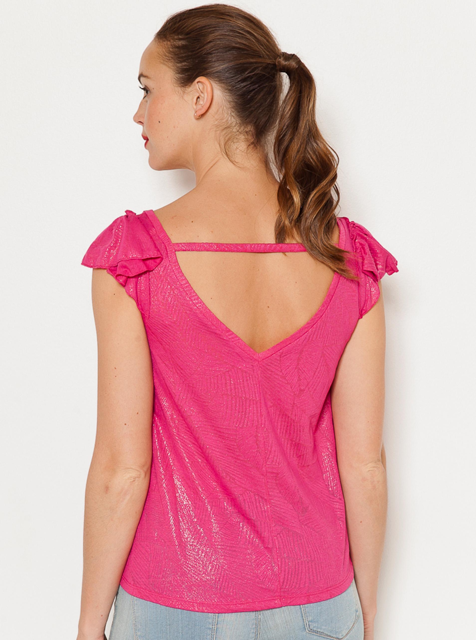 CAMAIEU Maglietta donna rosa