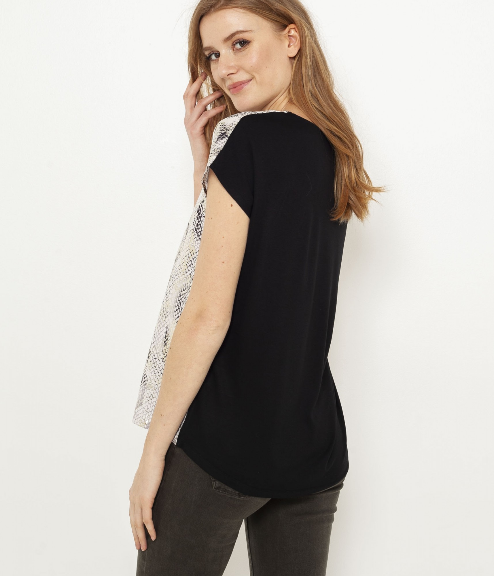 CAMAIEU Maglietta donna marrone