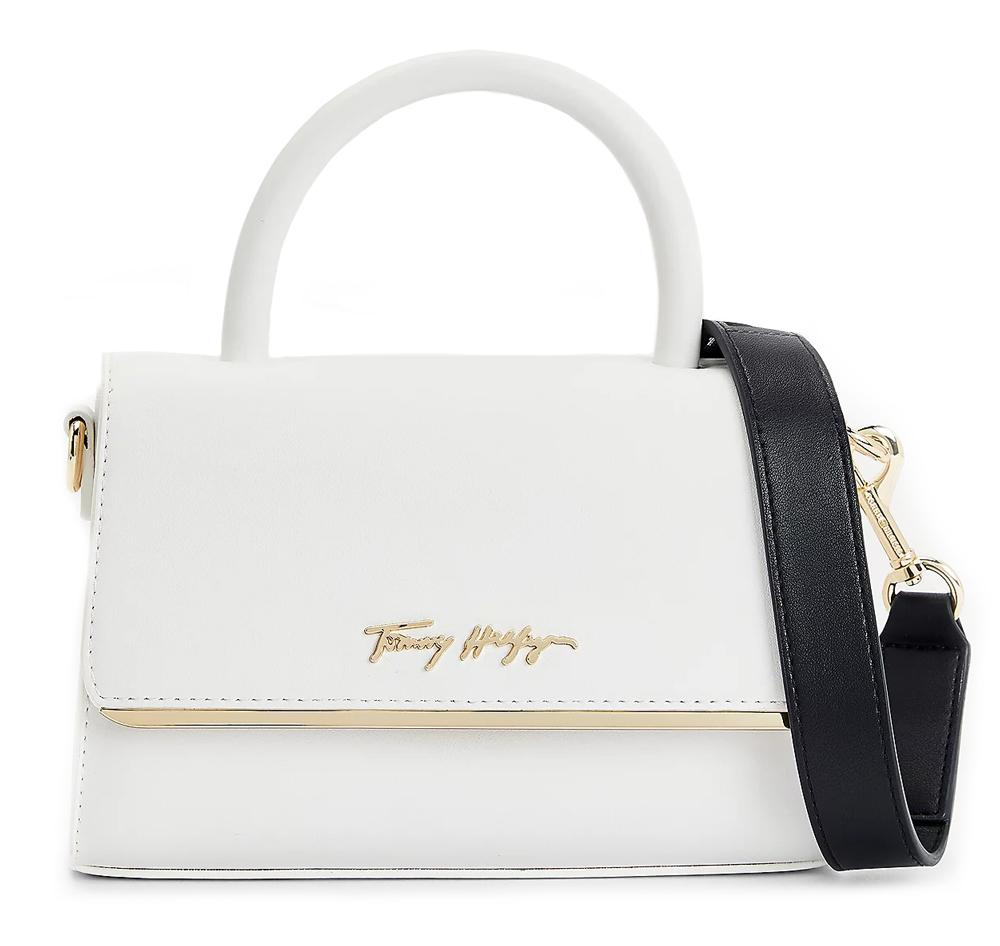 Tommy Hilfiger bianco crossbody piccola borsetta