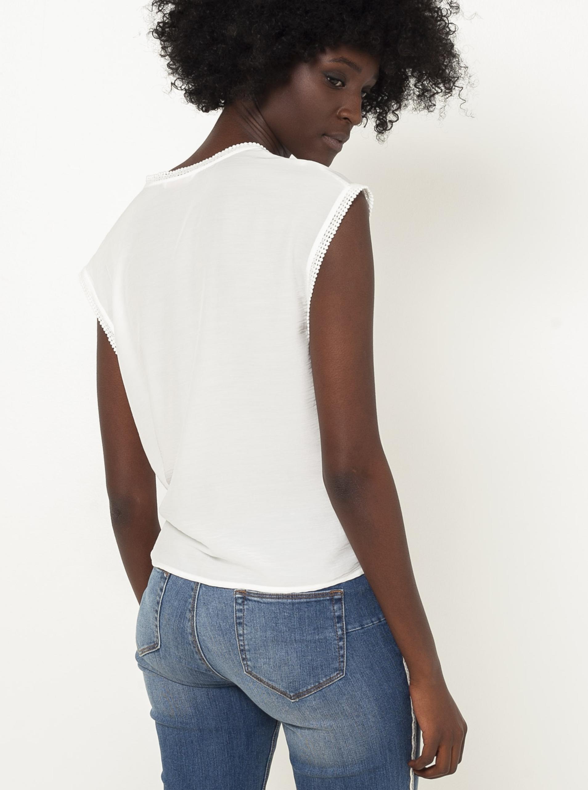 CAMAIEU bianco da donna top