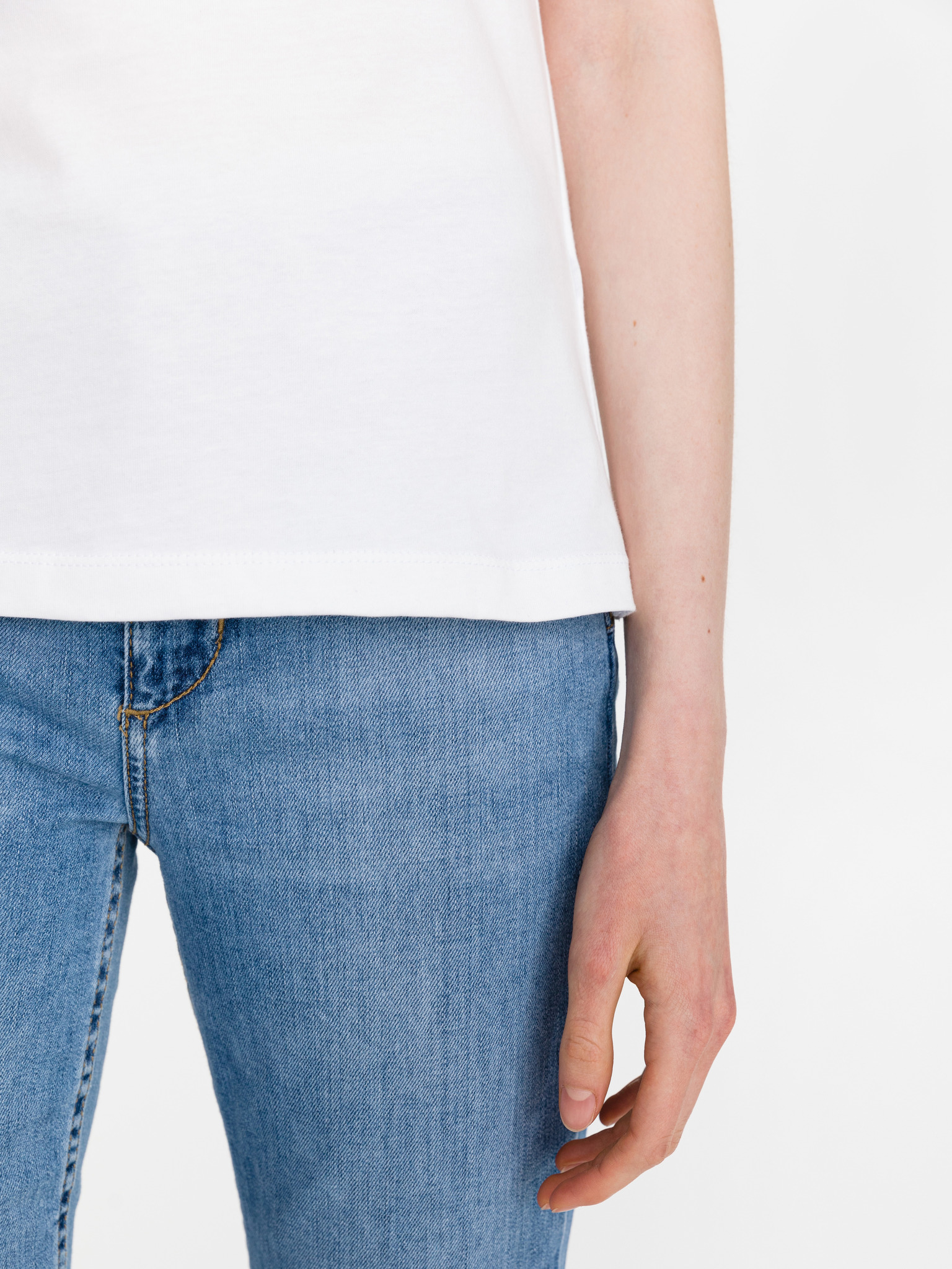 Guess bianco maglietta Beauty