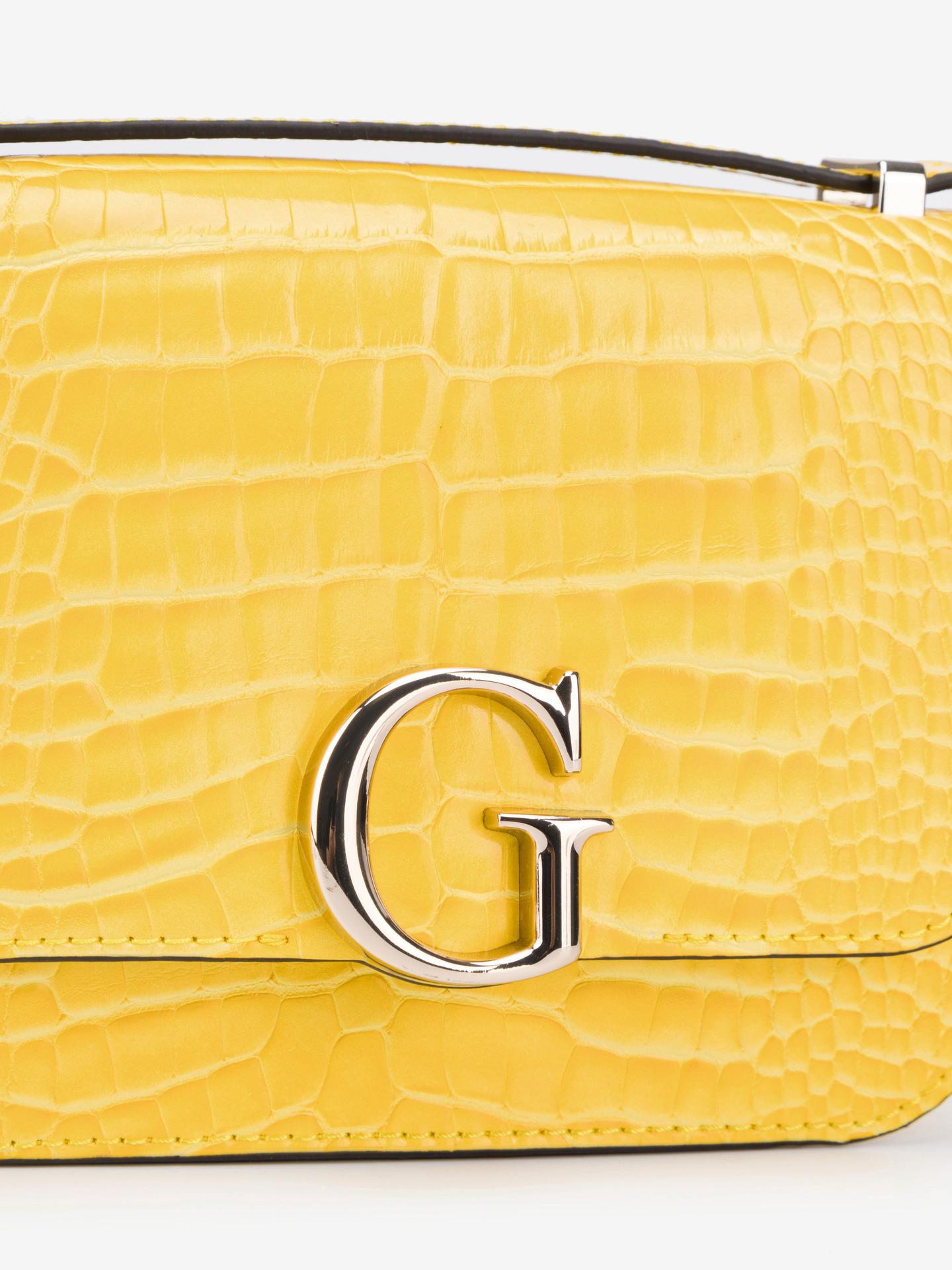 Guess giallo borsetta Corily