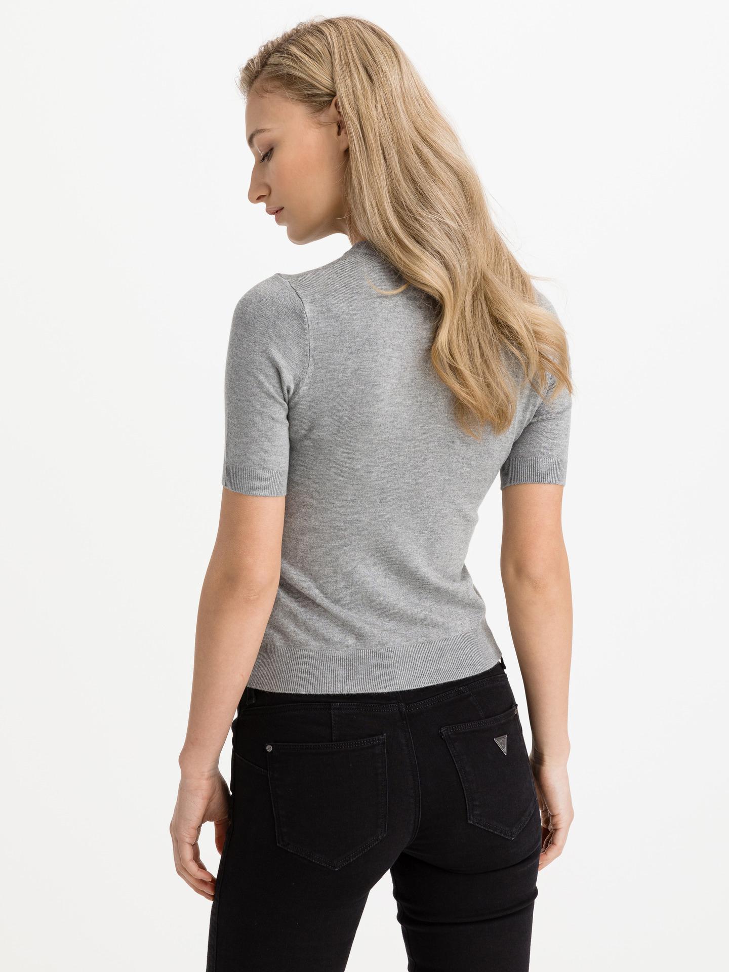 Guess grigio maglietta Deborah