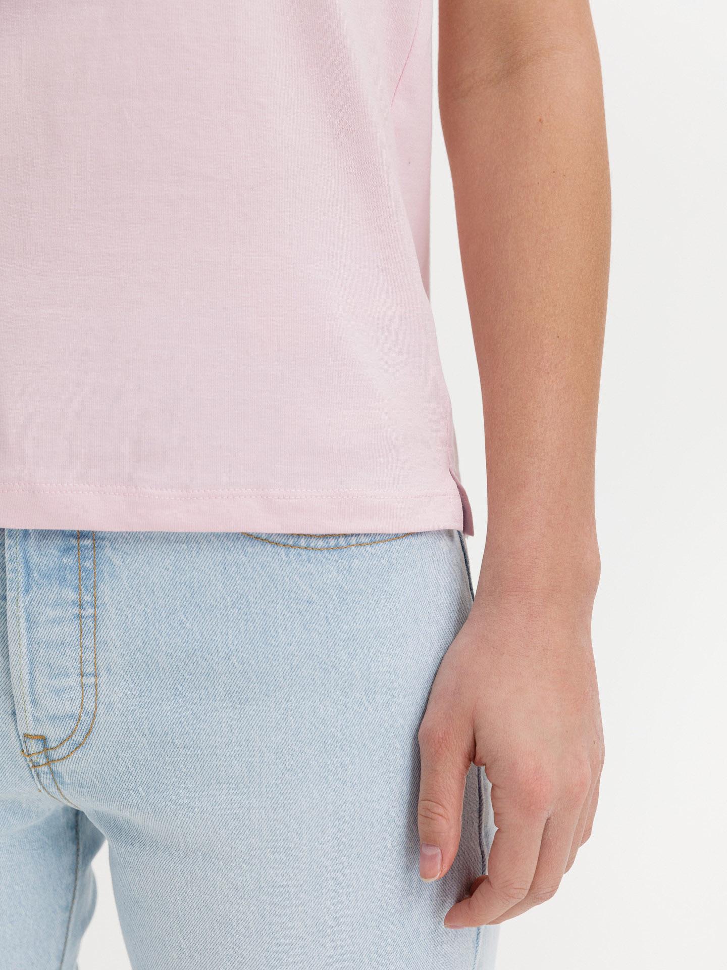 Guess rosa maglietta Icon