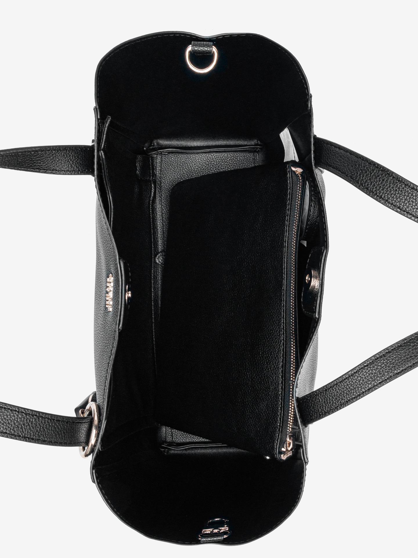 Guess nero borsetta Naya Front Zip