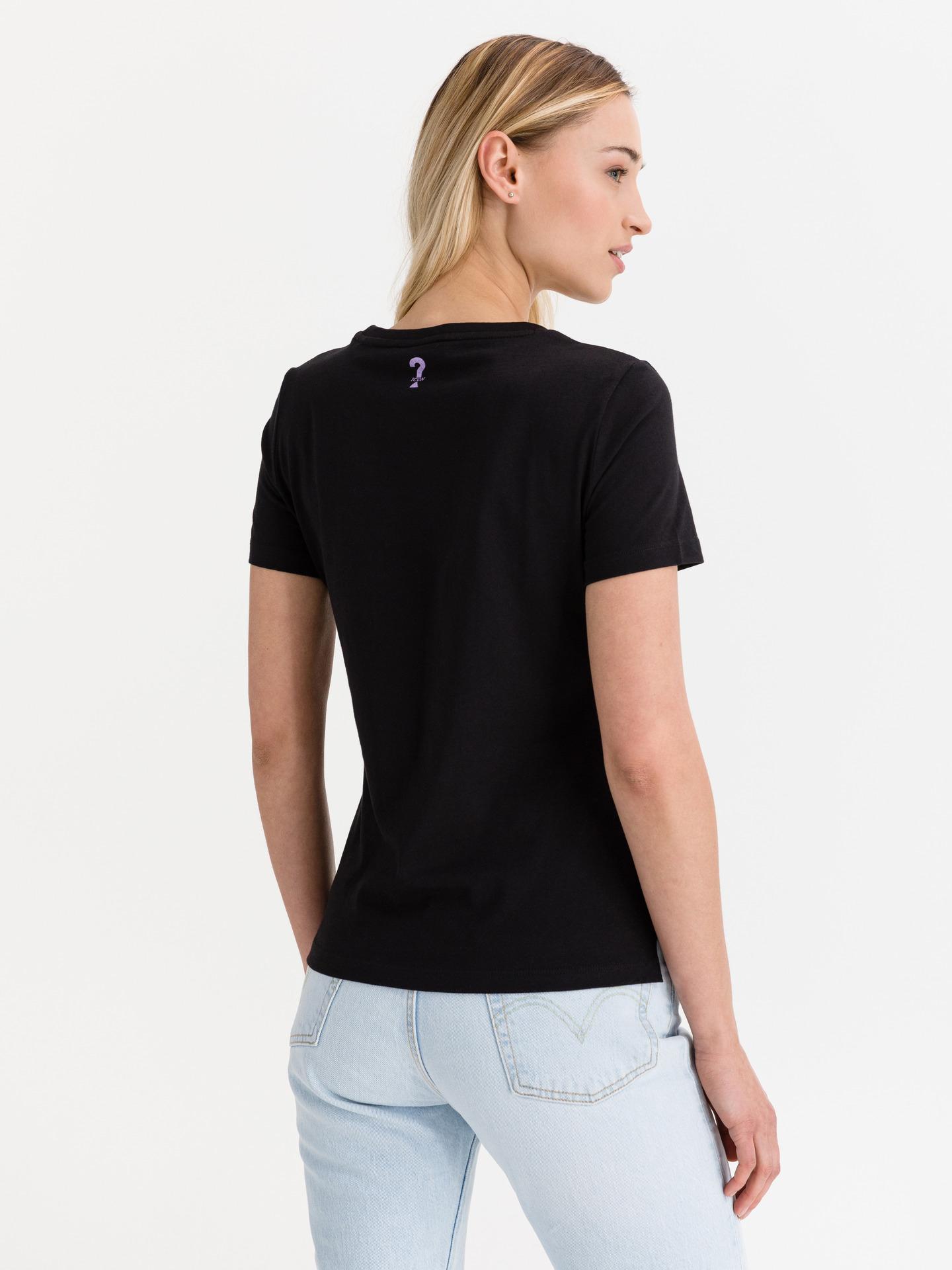 Guess nero maglietta Glenna