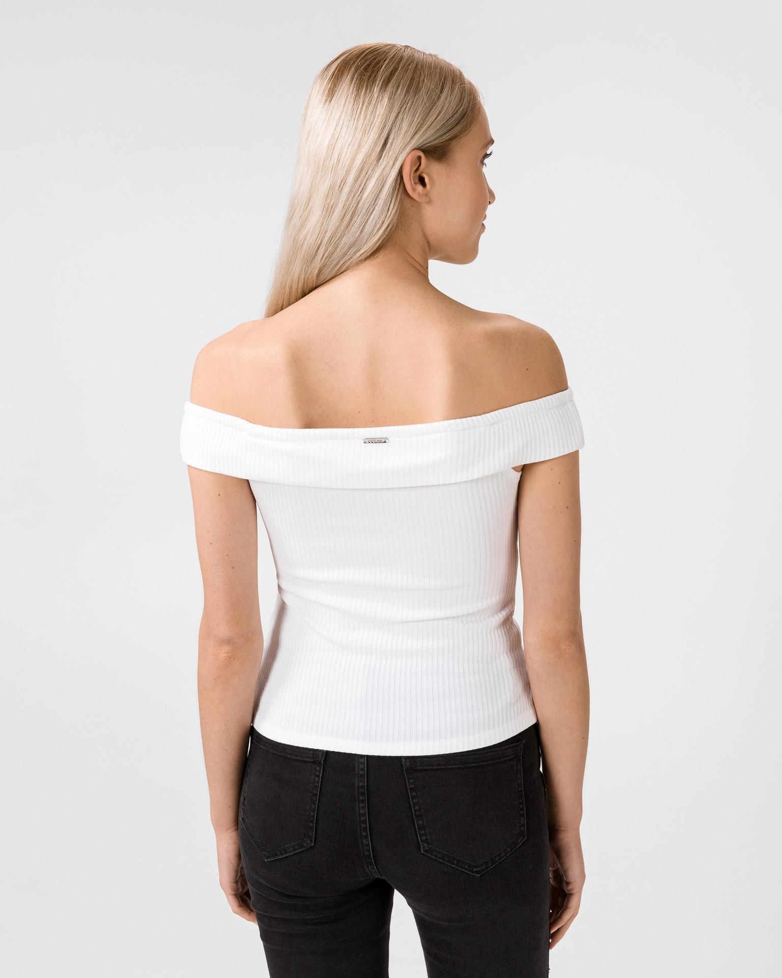 Guess Maglietta donna bianco Top