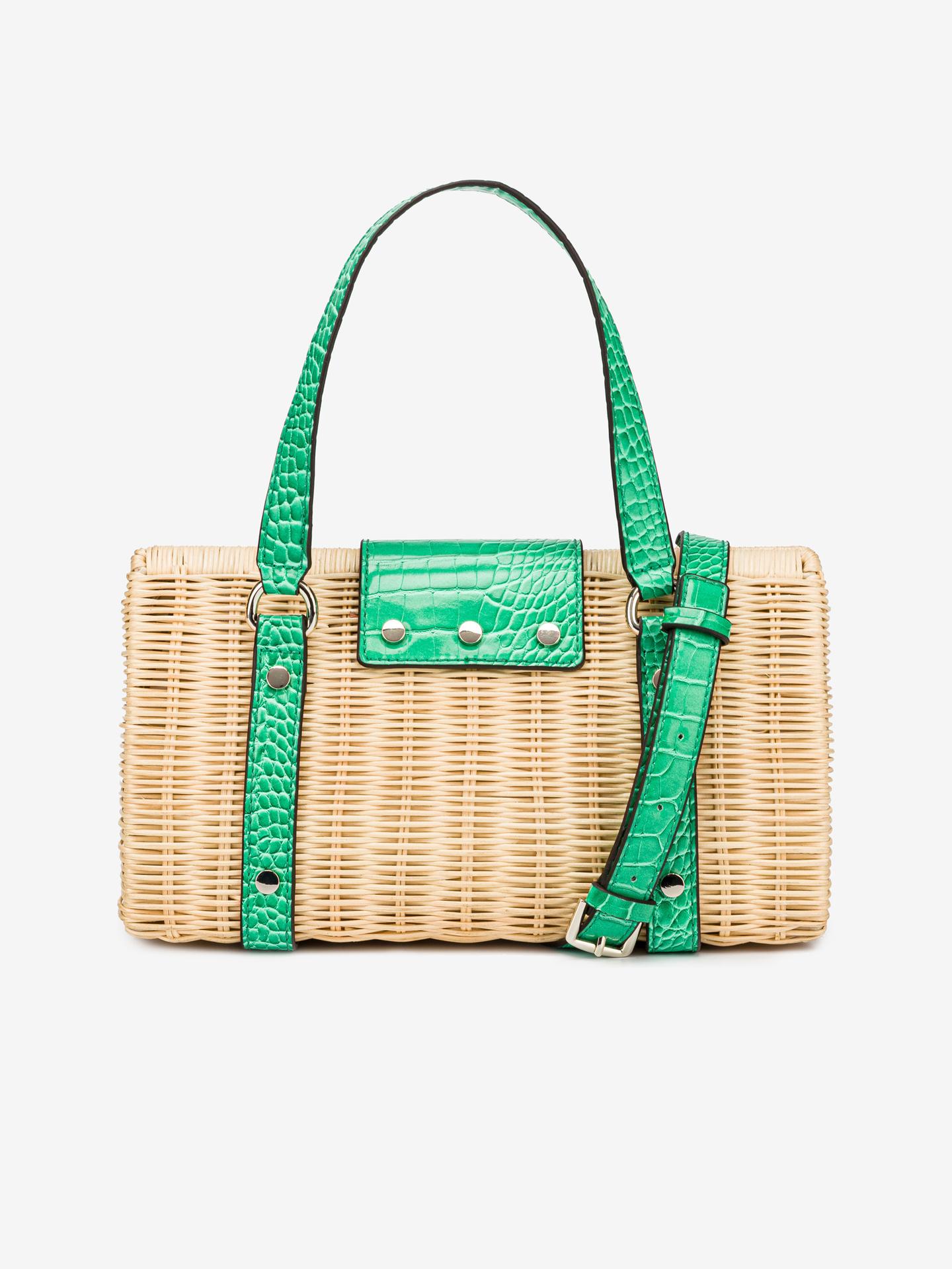 Guess verde borsetta Paloma