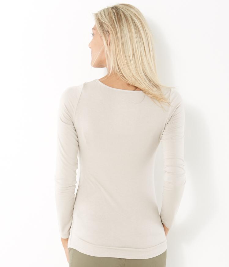 CAMAIEU Maglietta donna crema