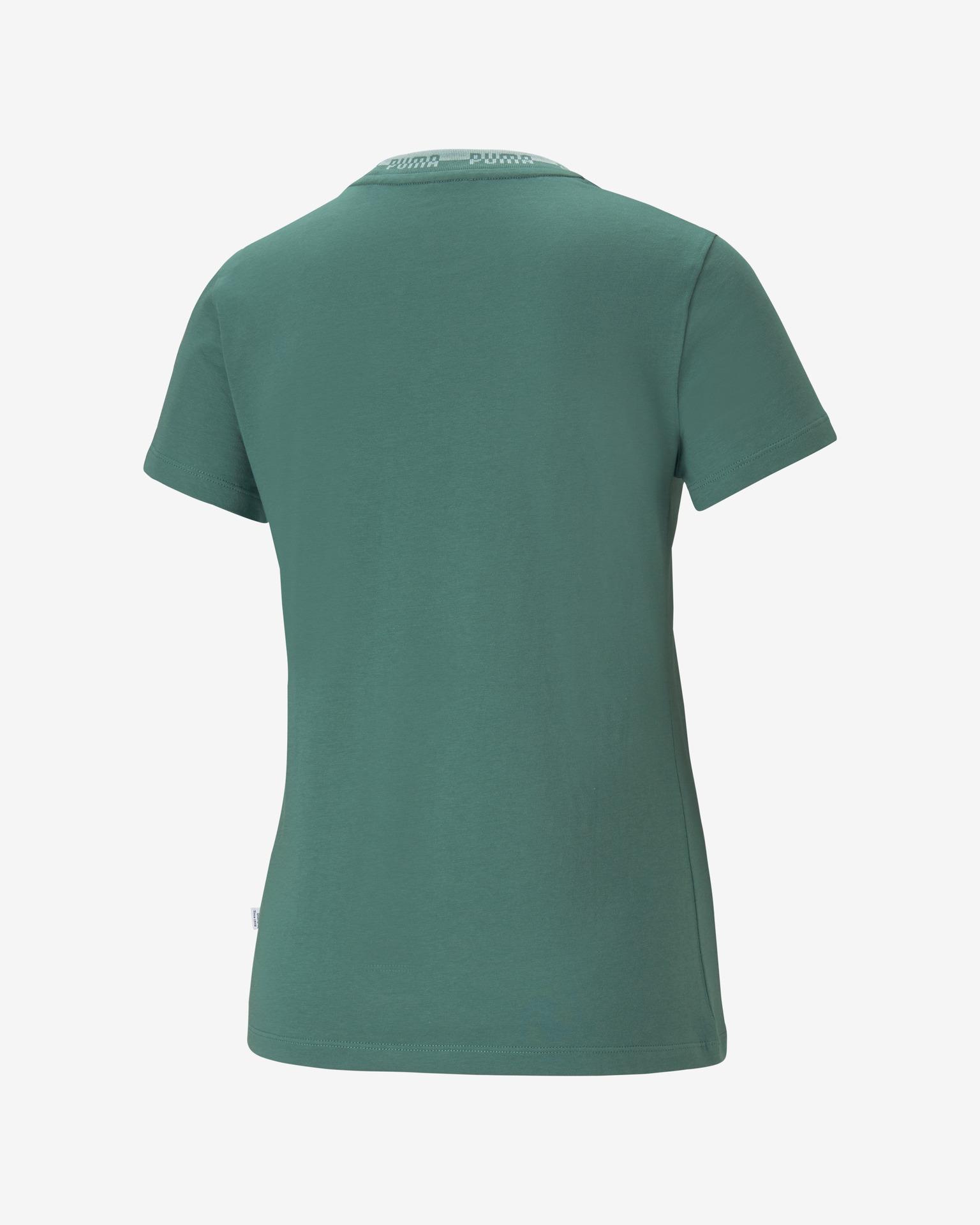 Puma Maglietta donna verde Triko