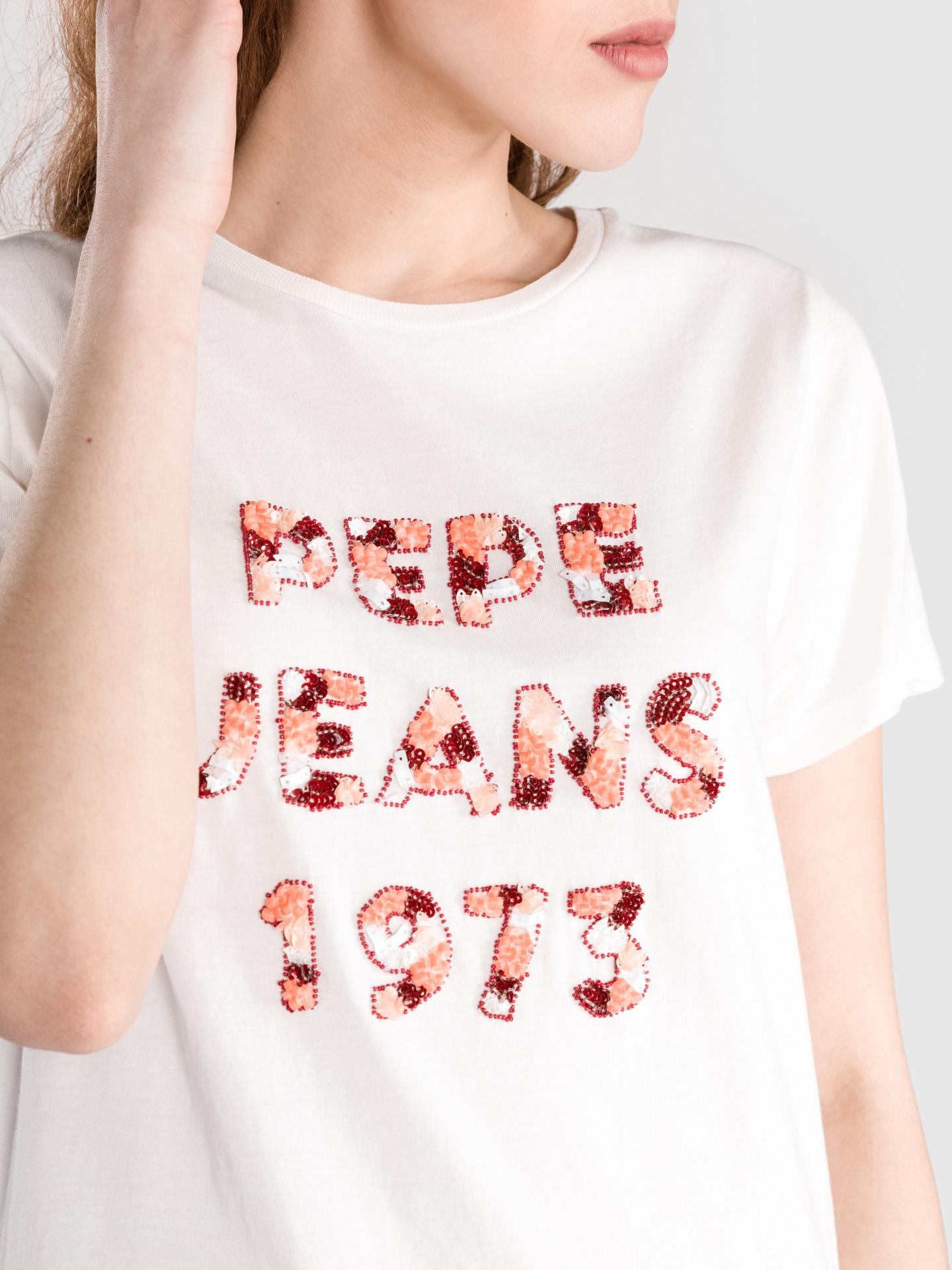 Pepe Jeans Marnie T-shirt bianca