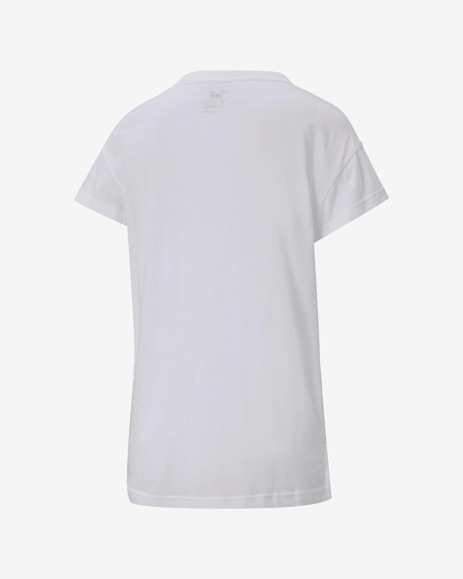 Puma bianco da donna maglietta Active