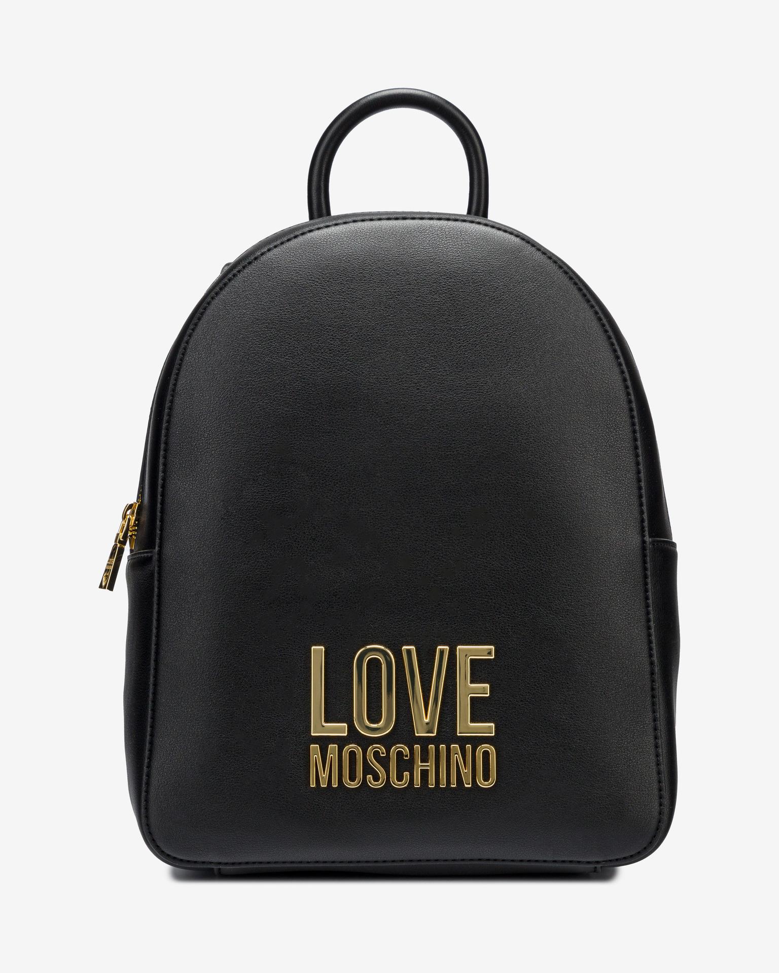 Love Moschino nero zaino