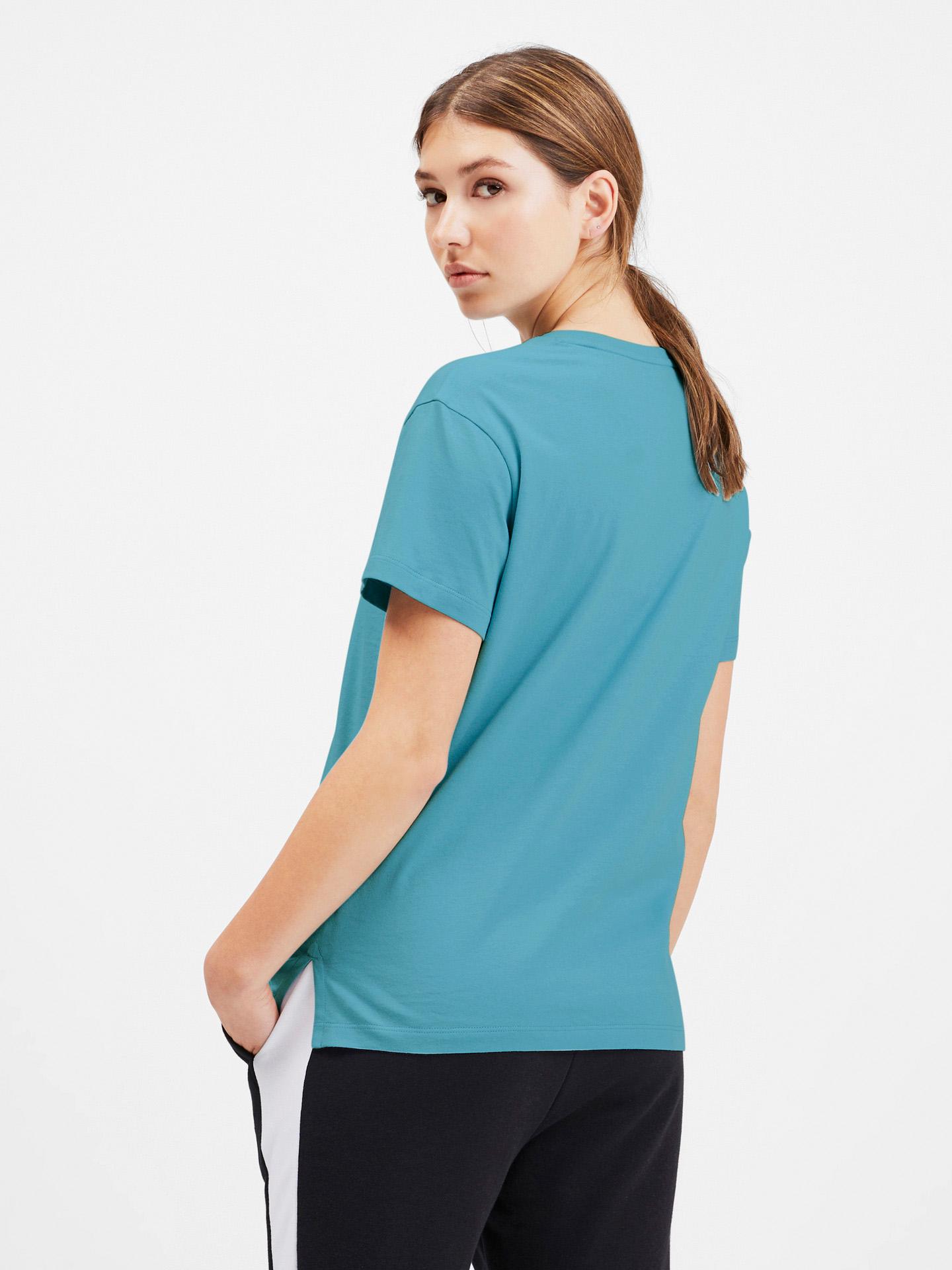 Puma blu da donna maglietta Classics