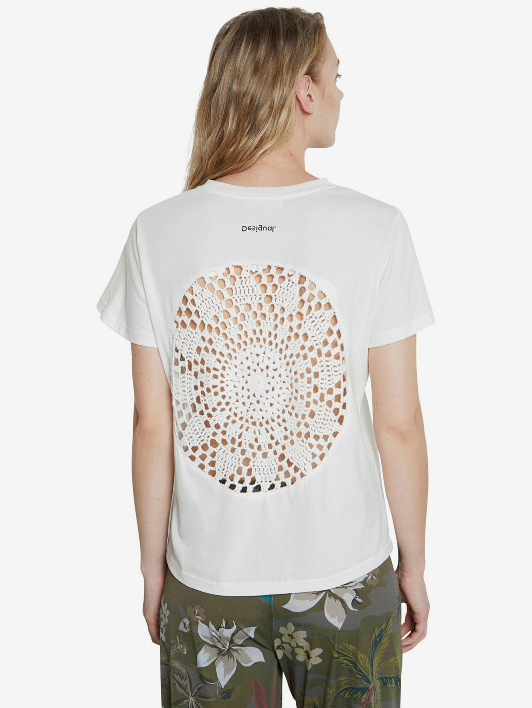 Desigual bianco maglietta