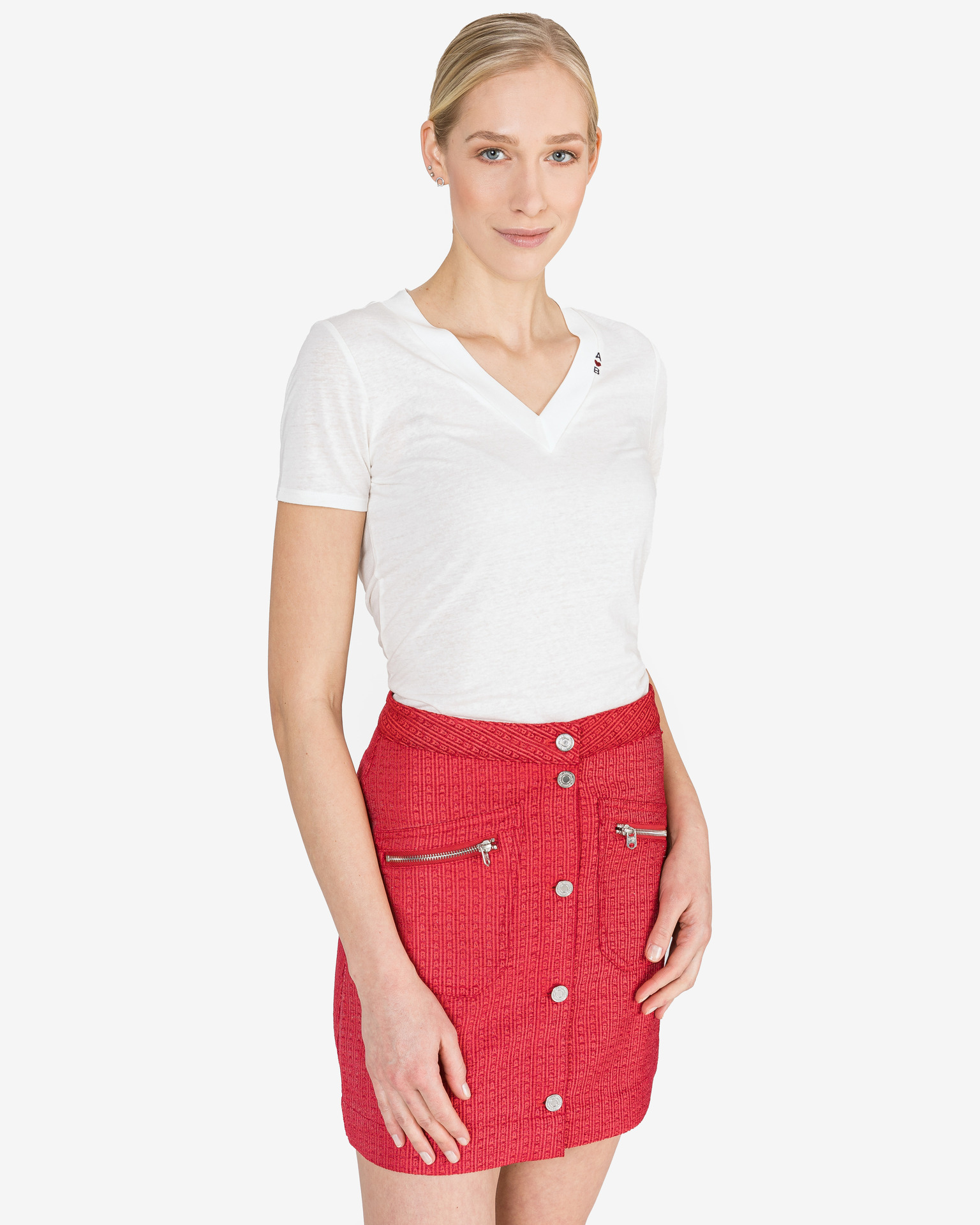 Scotch & Soda Maglietta donna bianco