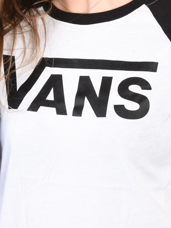 Vans maglietta FLYING V white/black