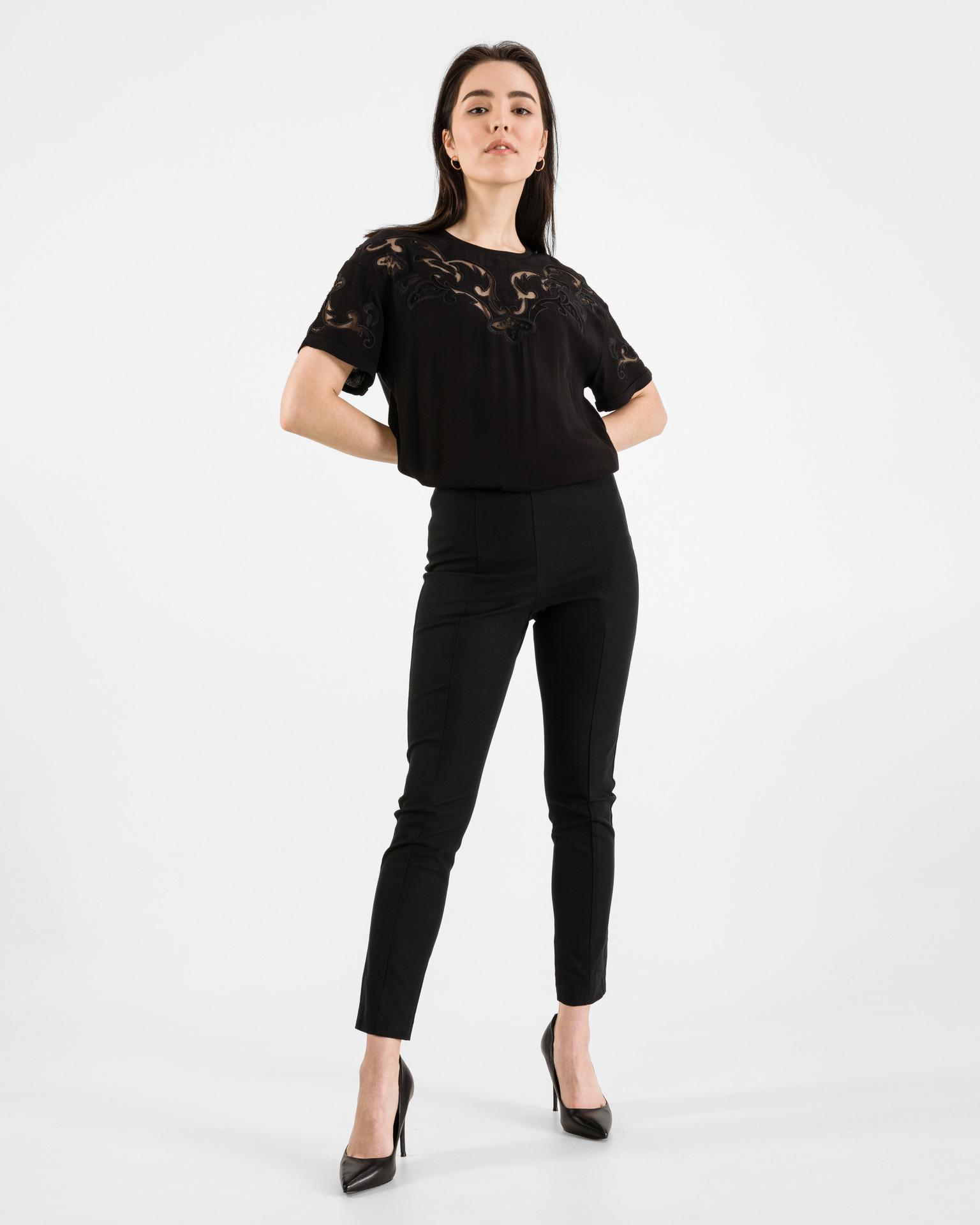 Desigual Blusa donna nero  Luan