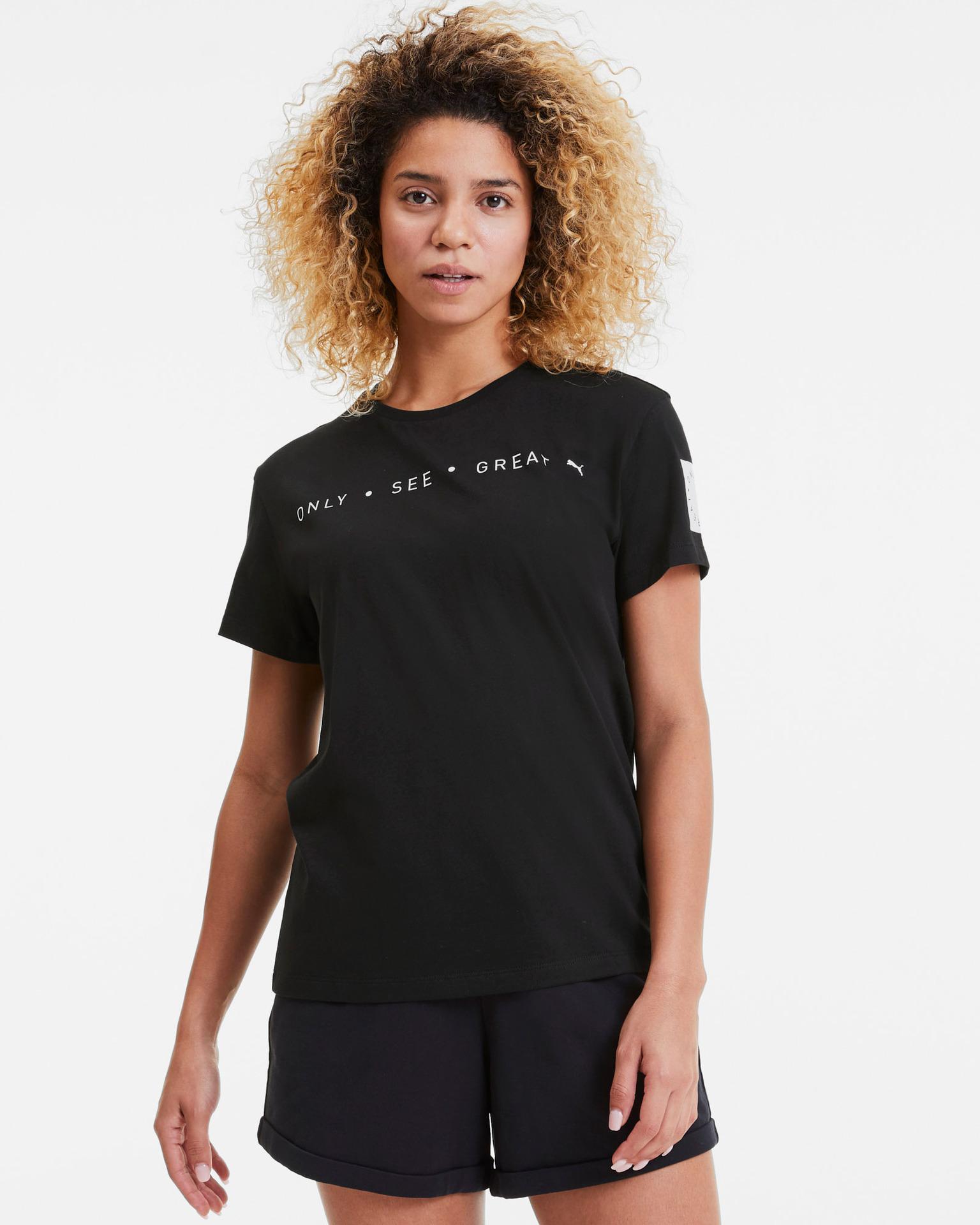 Puma Maglietta donna nero  See