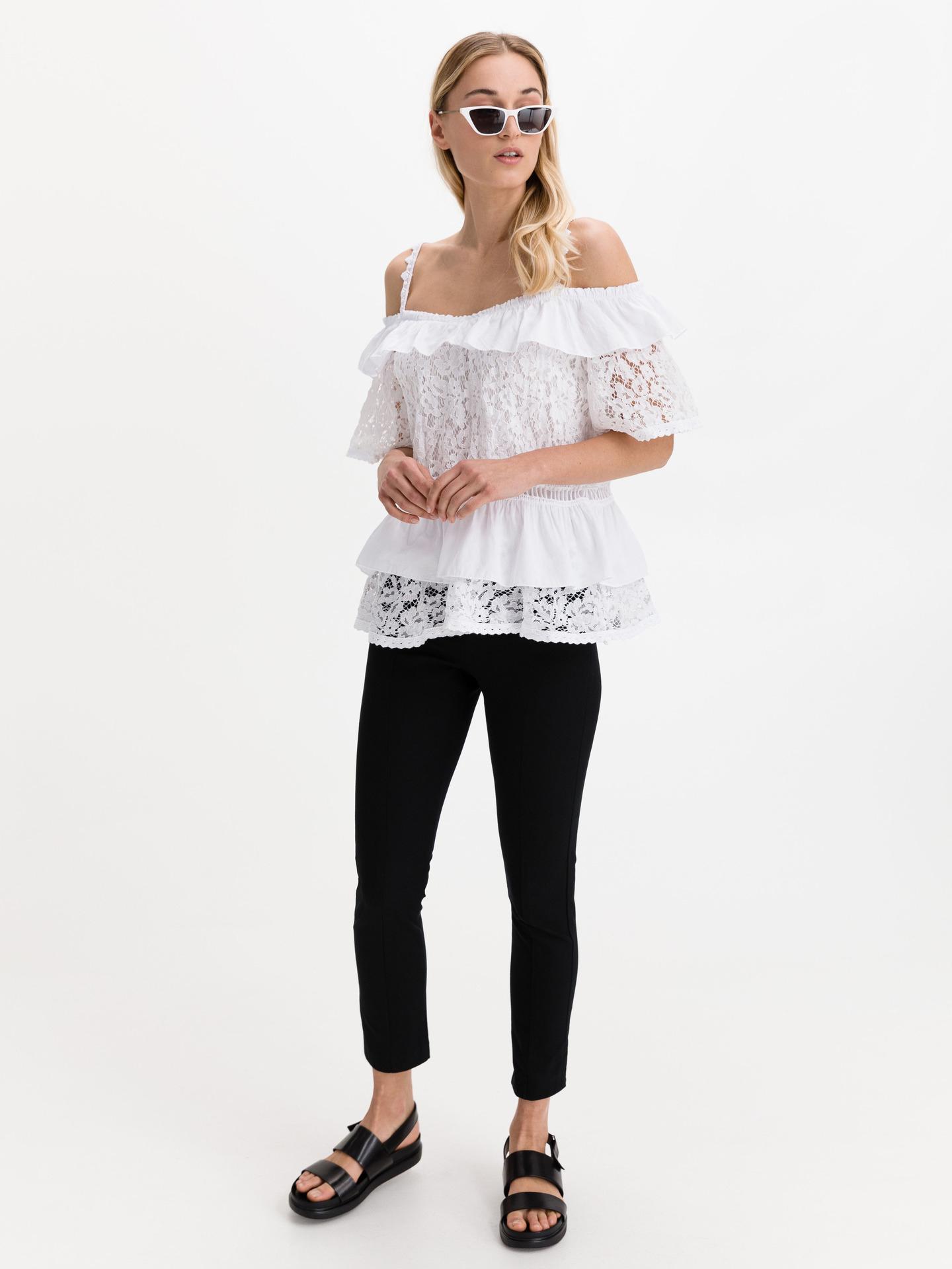 Guess bianco da donna camicetta New Olimpia
