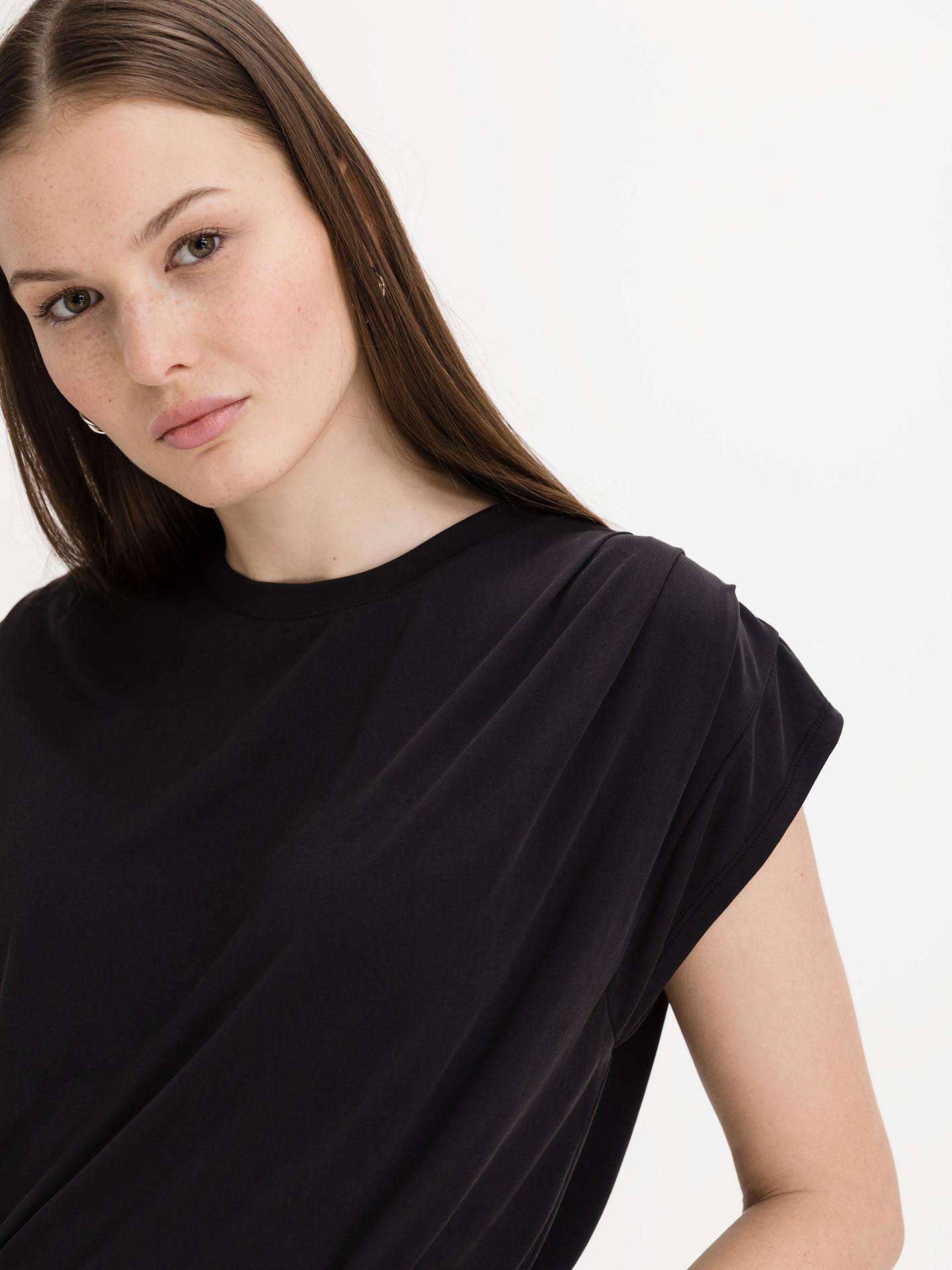 Ichi nero da donna maglietta Lisken