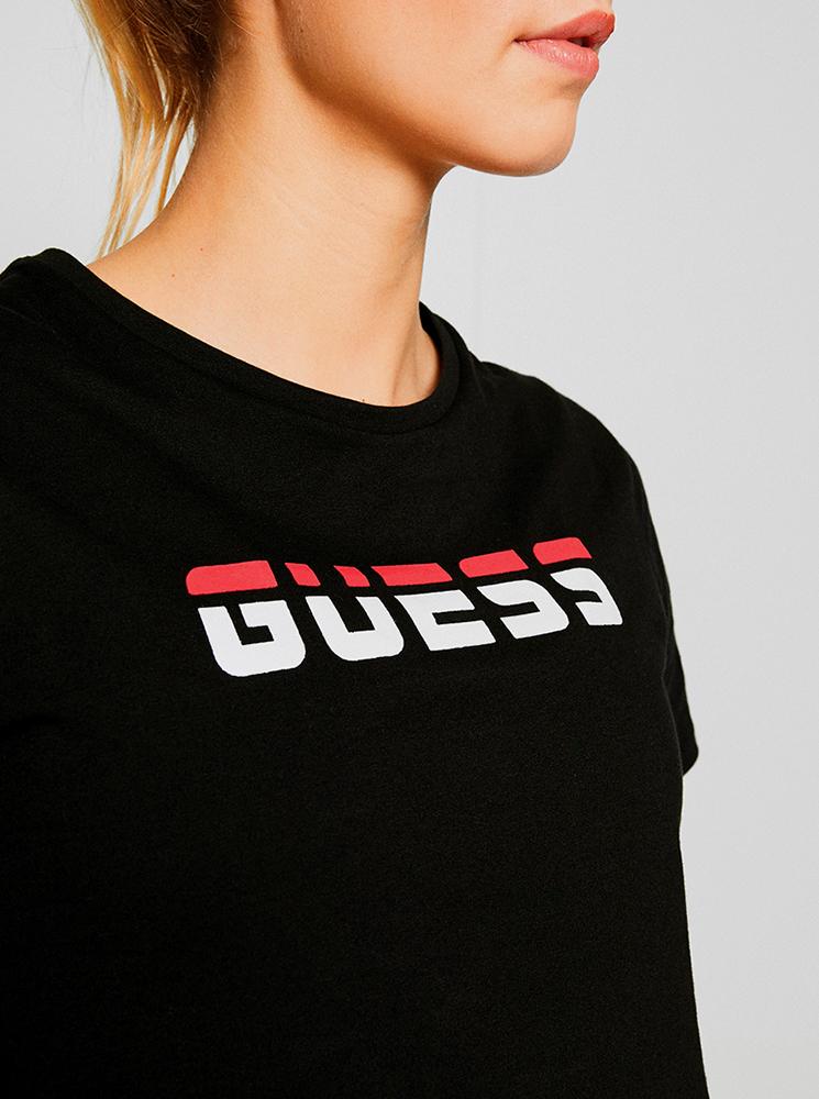 Guess Maglietta donna nero -