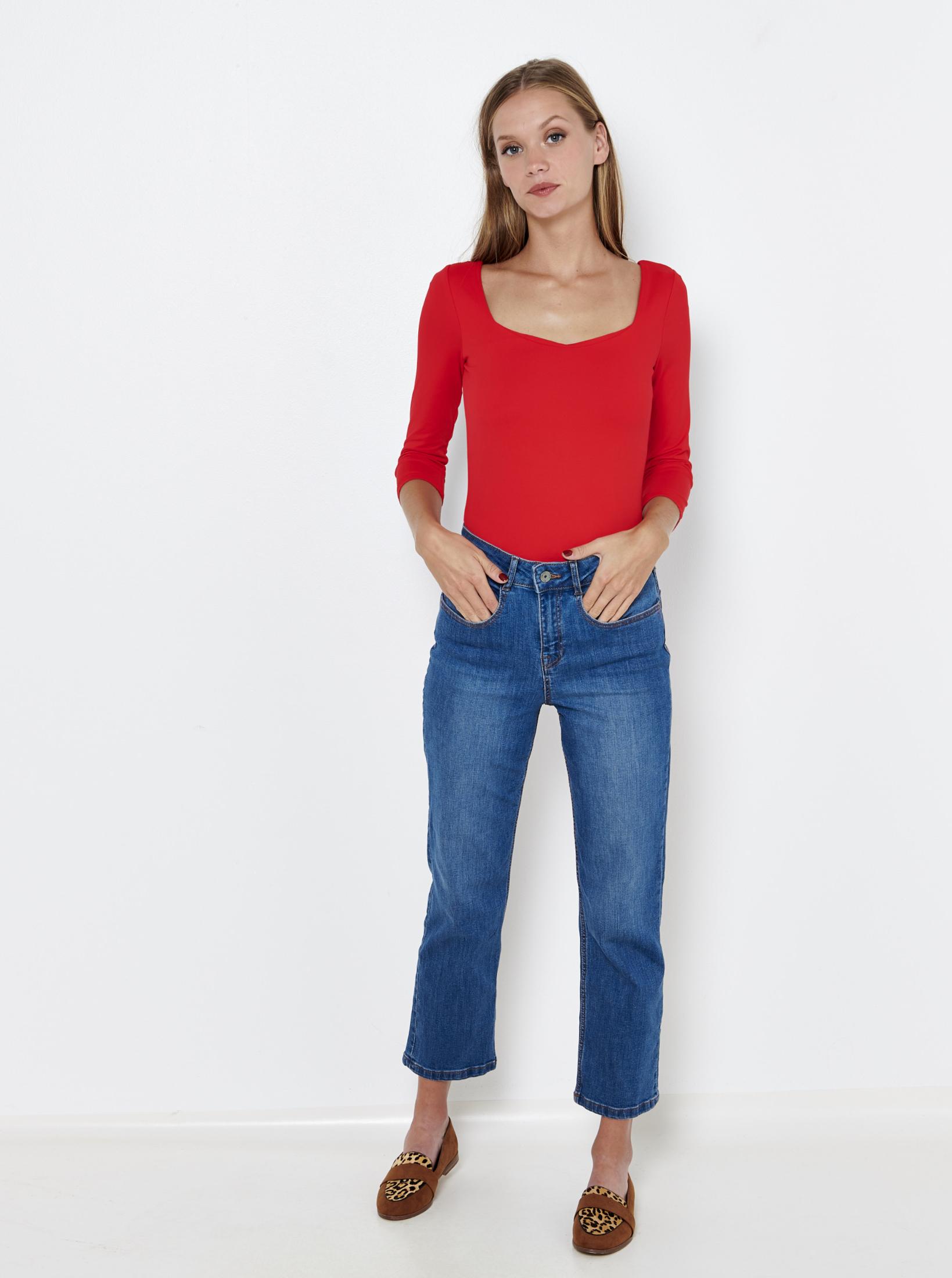 CAMAIEU Maglietta donna rosso