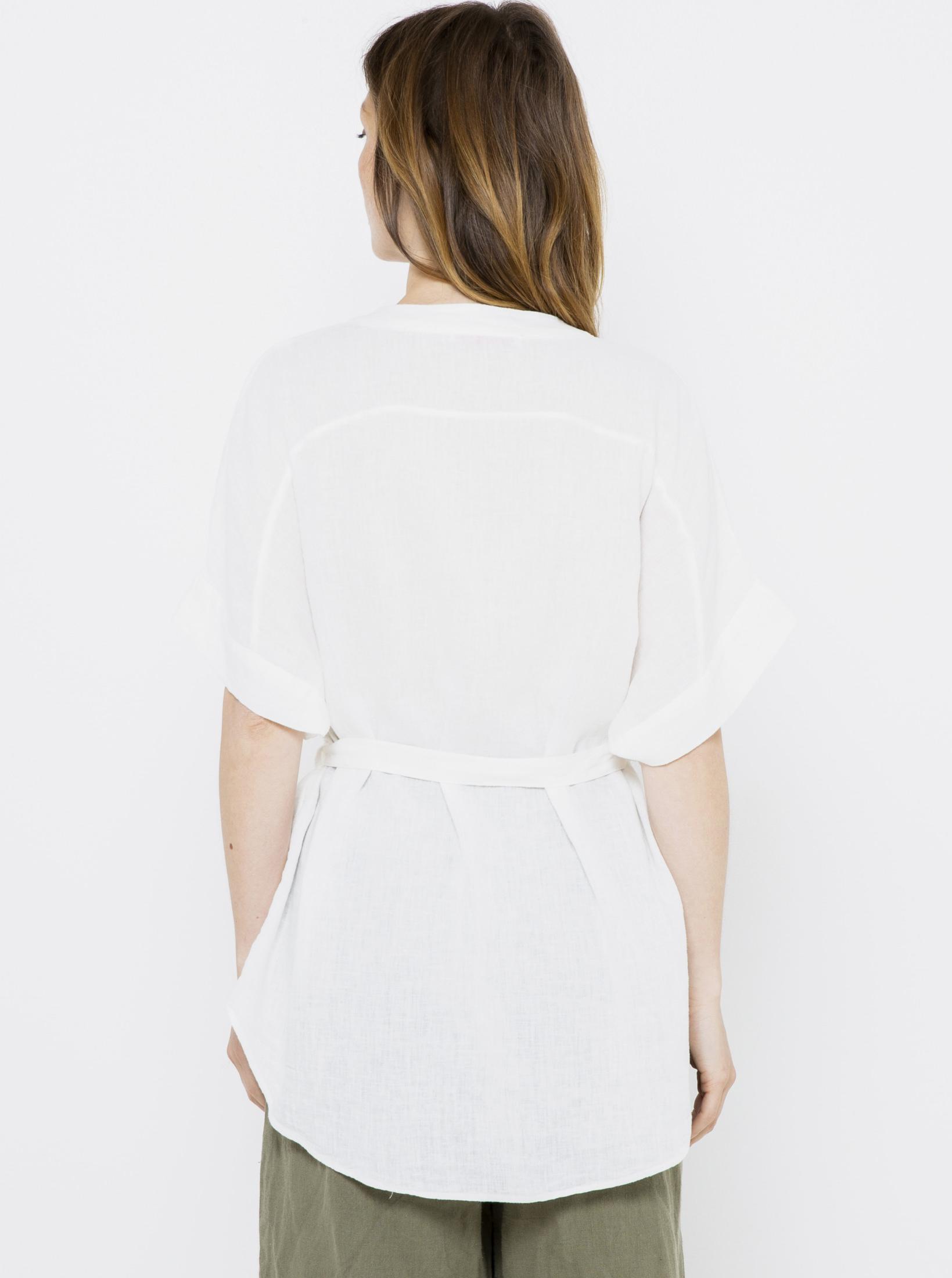 CAMAIEU Blusa donna bianco