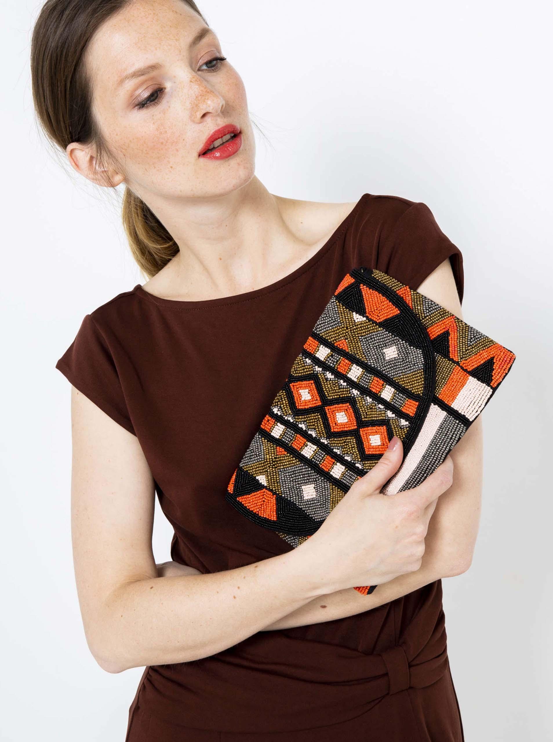 CAMAIEU Borsetta donna arancione