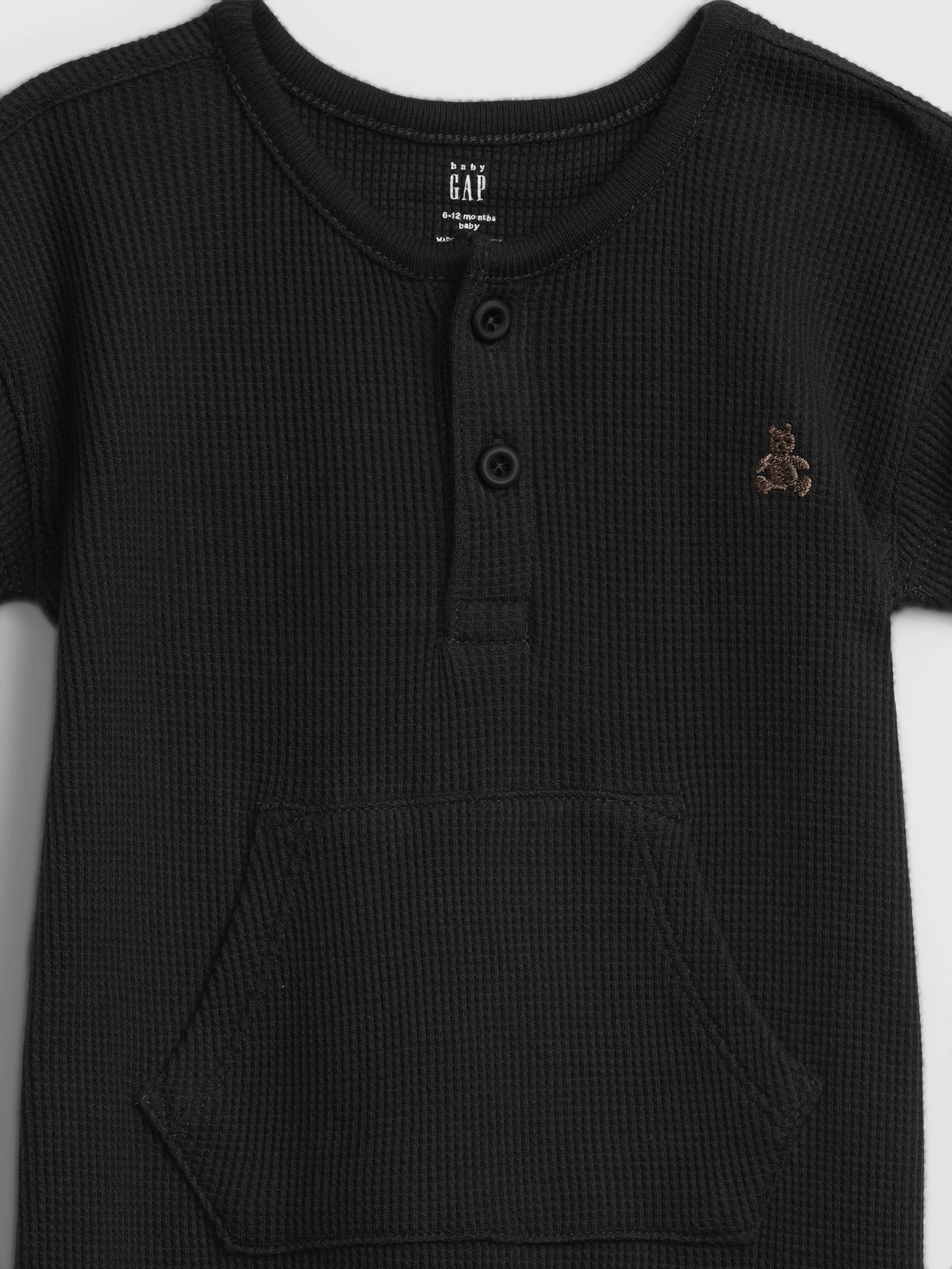 GAP Maglietta bambino nero 1pc