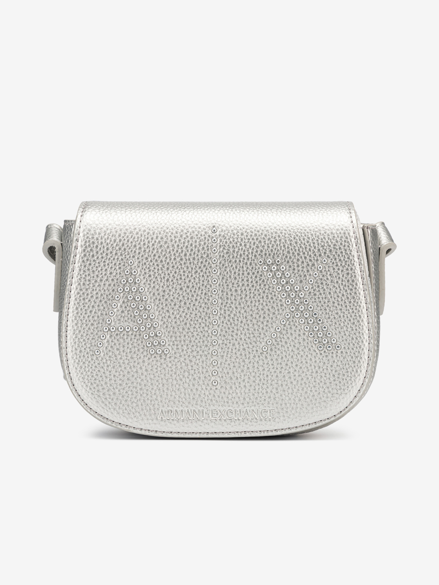 Armani Exchange argento borsetta