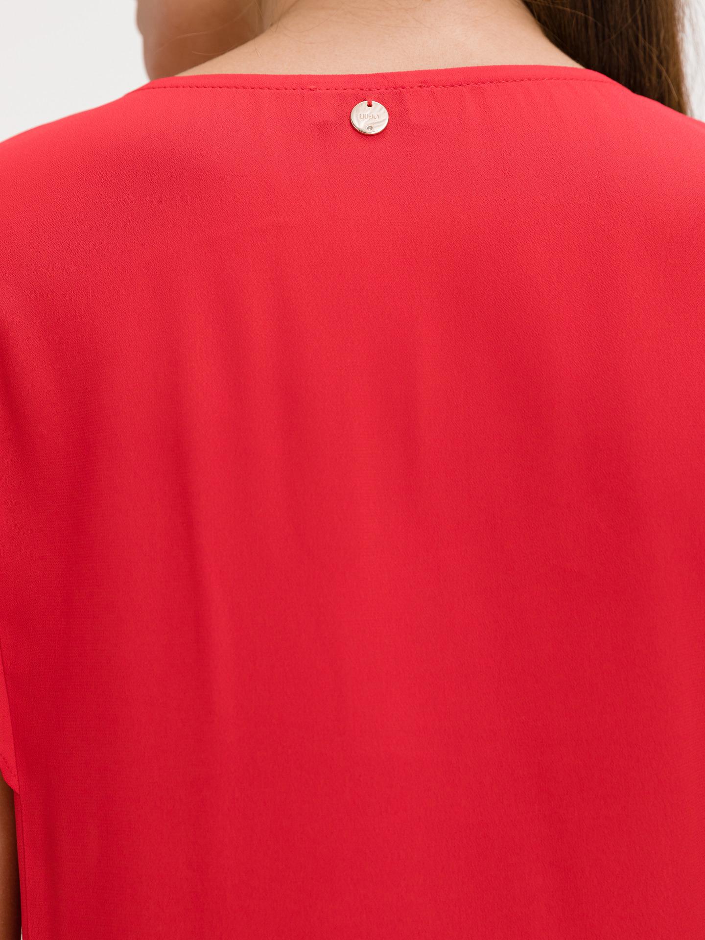 Liu Jo rosso da donna maglietta